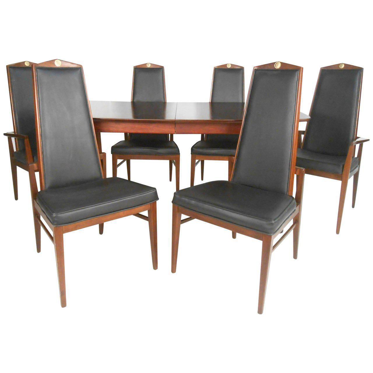 Mid Century Modern Dining Set Chairish