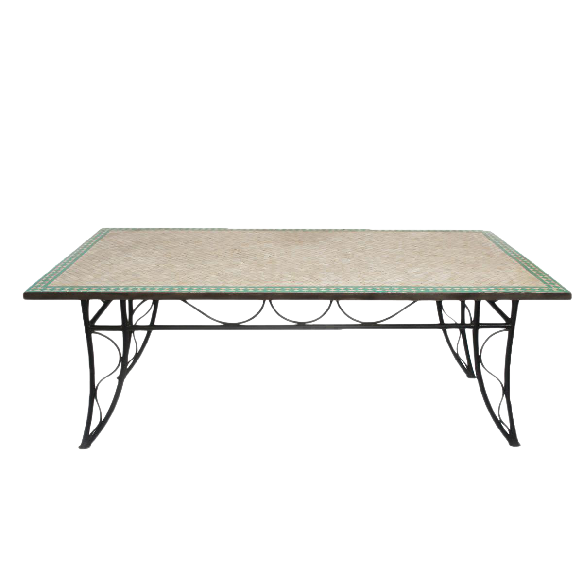 Mosaic Dining Room Table: Mosaic Tile Dining Table