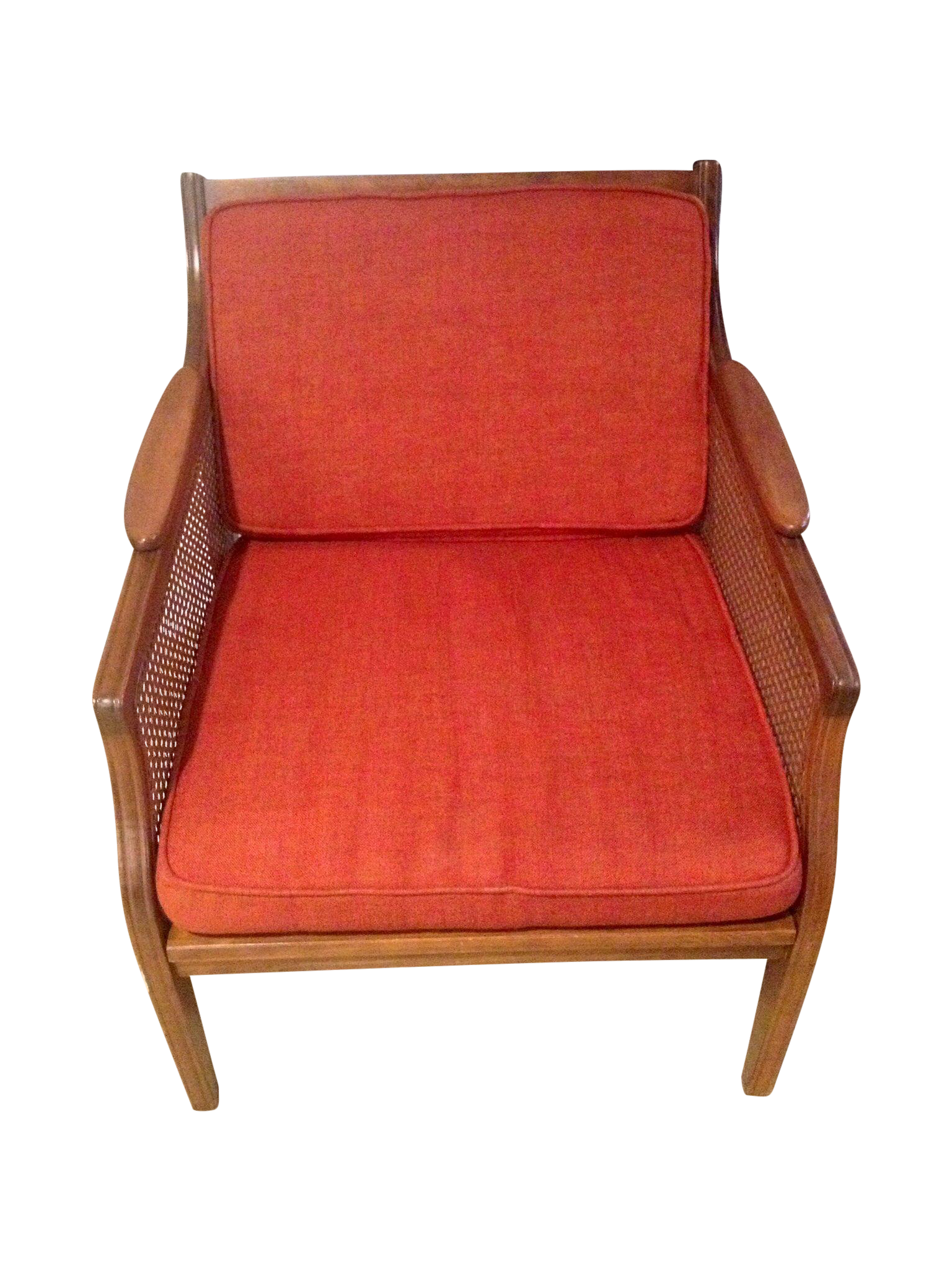 Mid Century Modern Danish Cane Side Chair