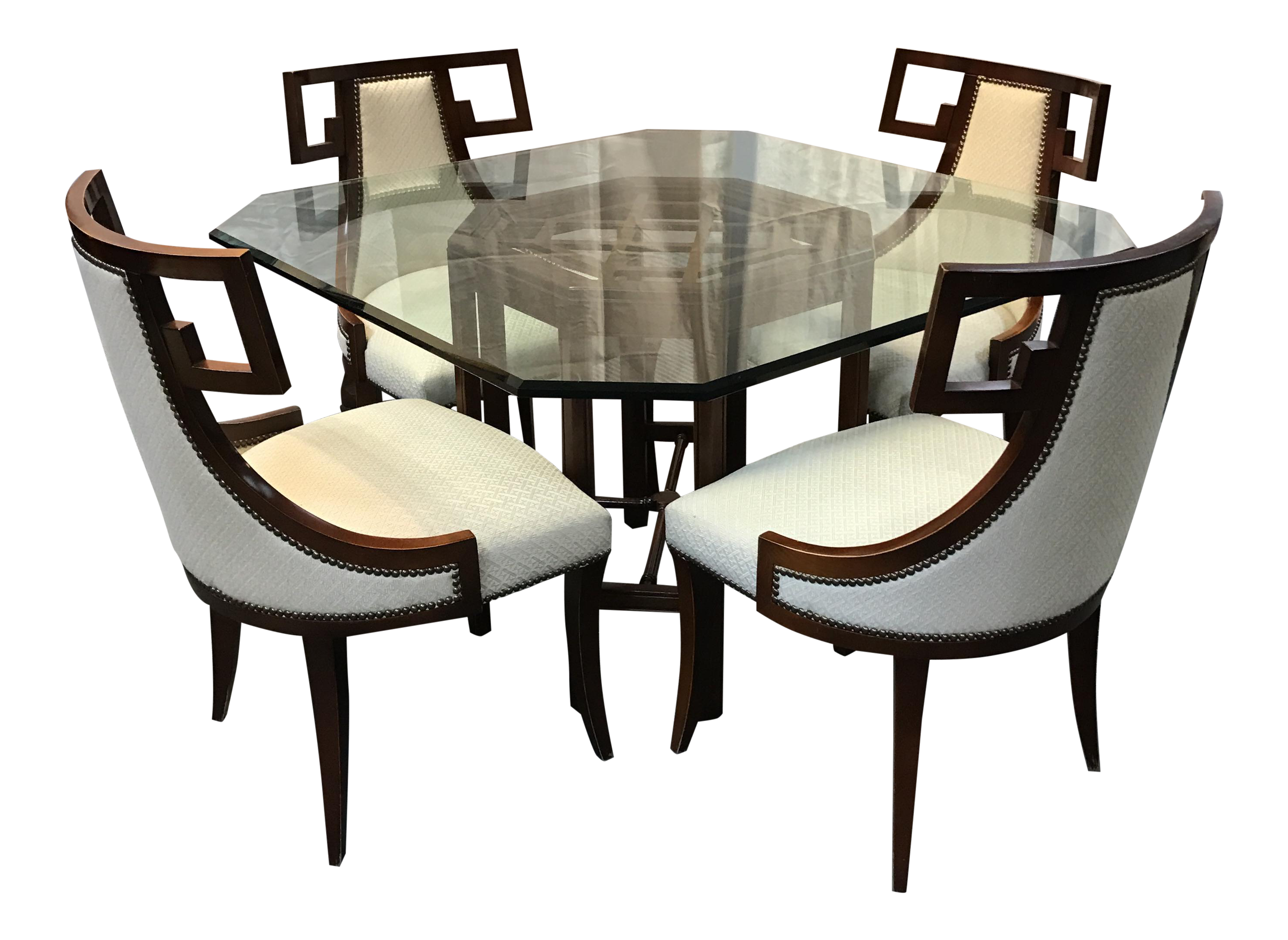 Stunning Baker Dining Room Table Contemporary  : baker chinoiserie dining set 2439 from rugoingmyway.us size 2973 x 2170 png 4480kB
