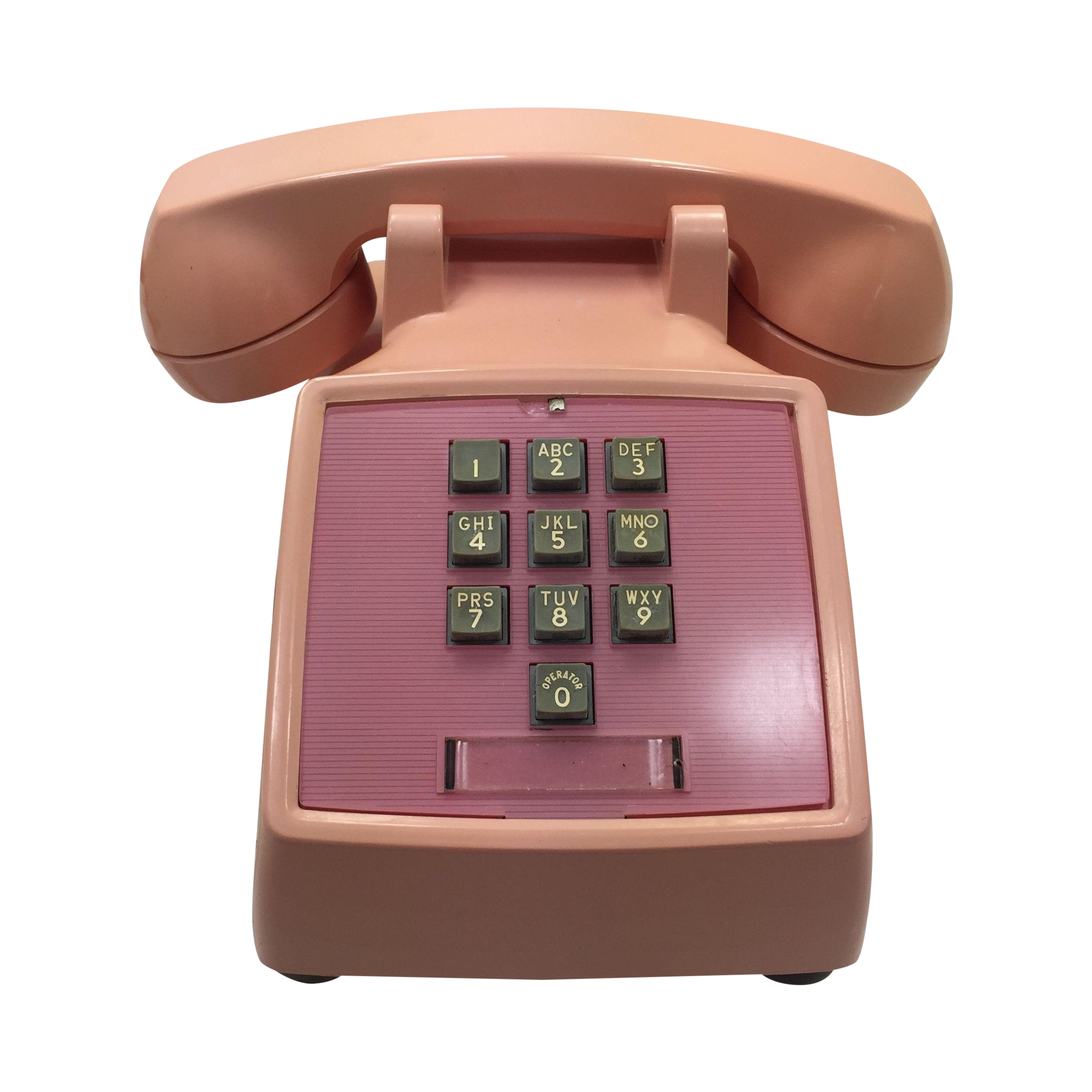 western electric 1960s pink 1500 telephone chairish. Black Bedroom Furniture Sets. Home Design Ideas