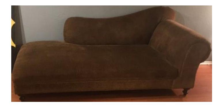 subtle leopard chaise lounge chairish. Black Bedroom Furniture Sets. Home Design Ideas