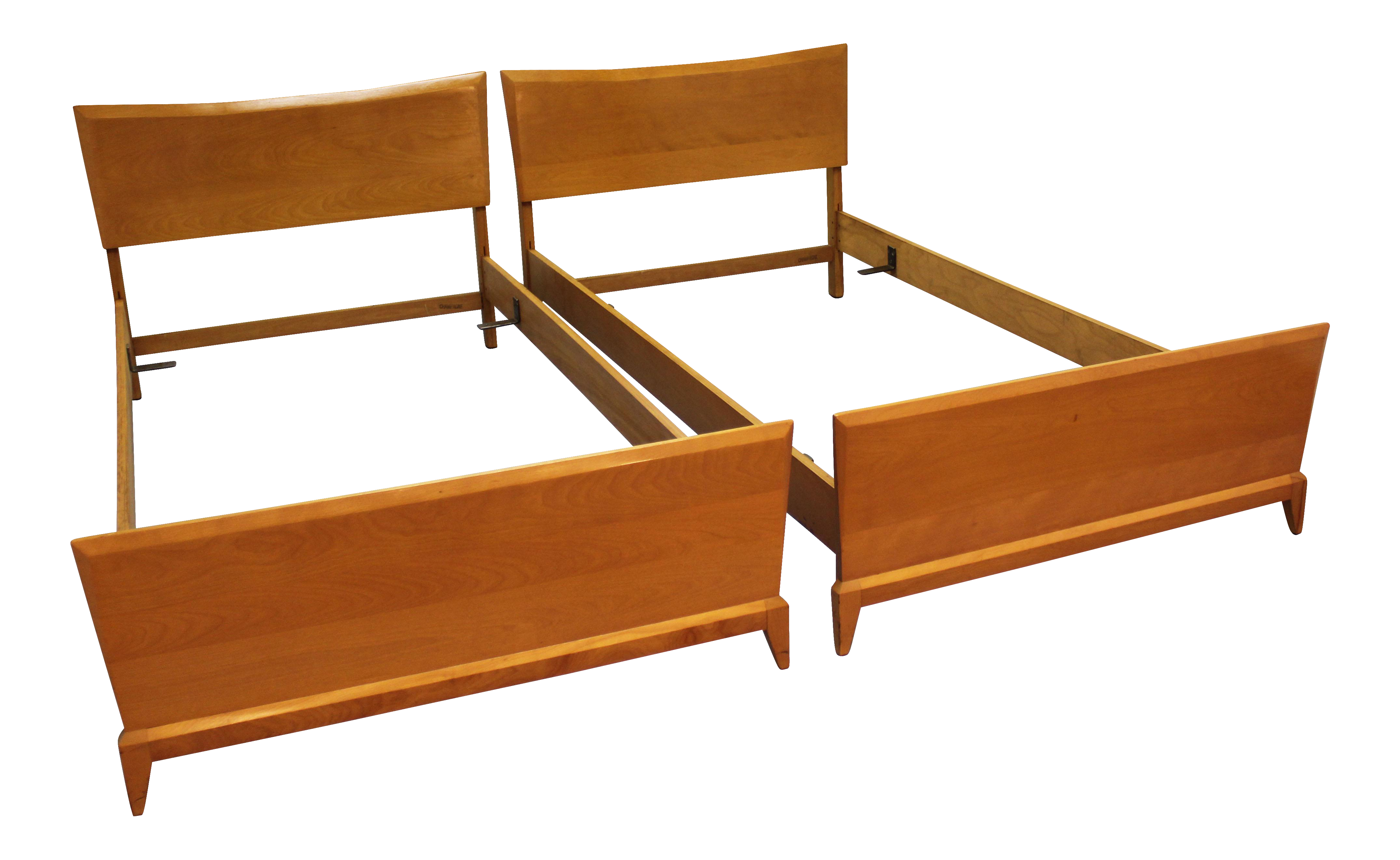 Crib for sale essex - Heywood Wakefield Mid Century Twin Size Bed Frames A Pair