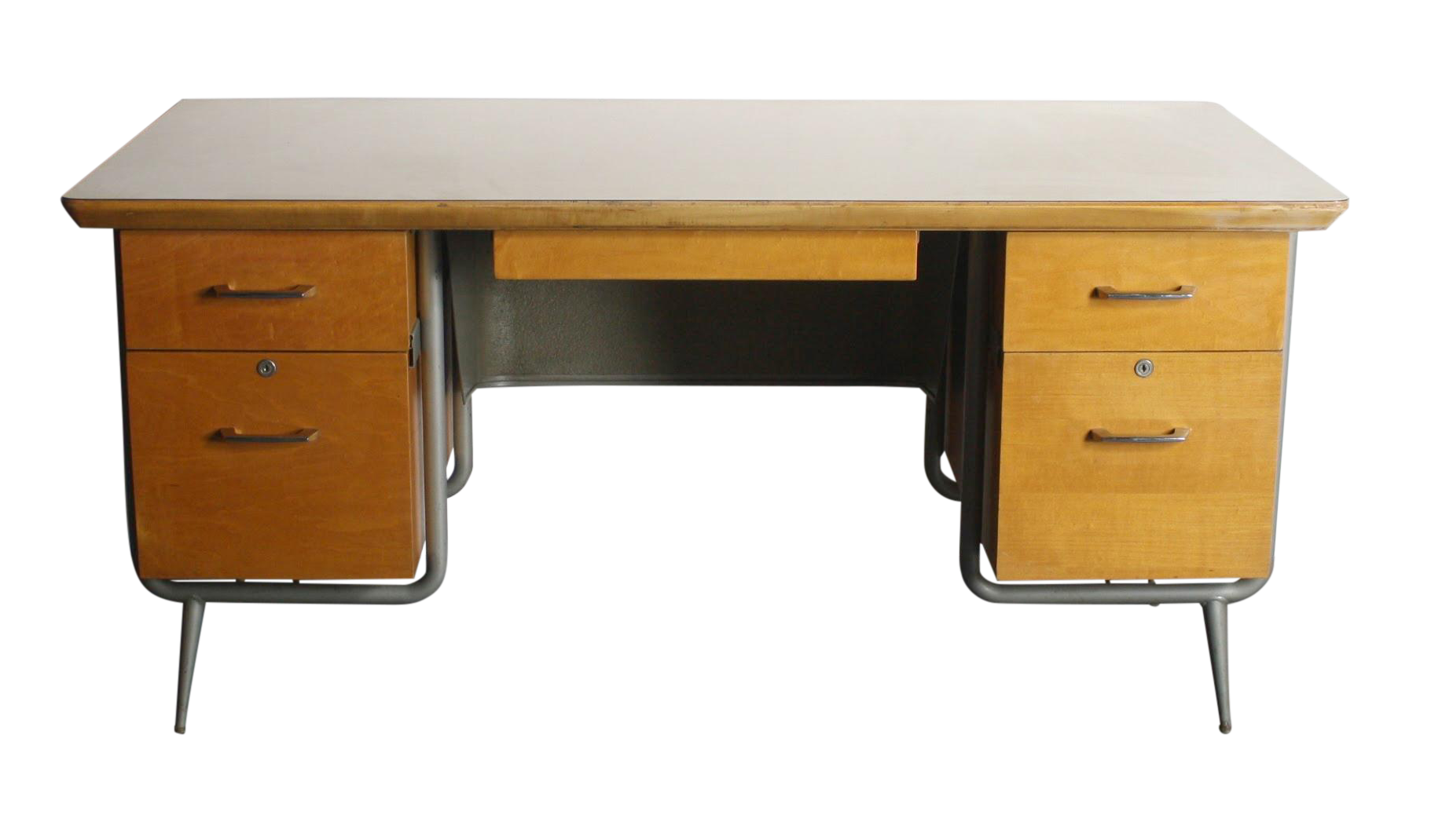 Kem Weber Heywood Wakefield Trimline Office Desk Chairish