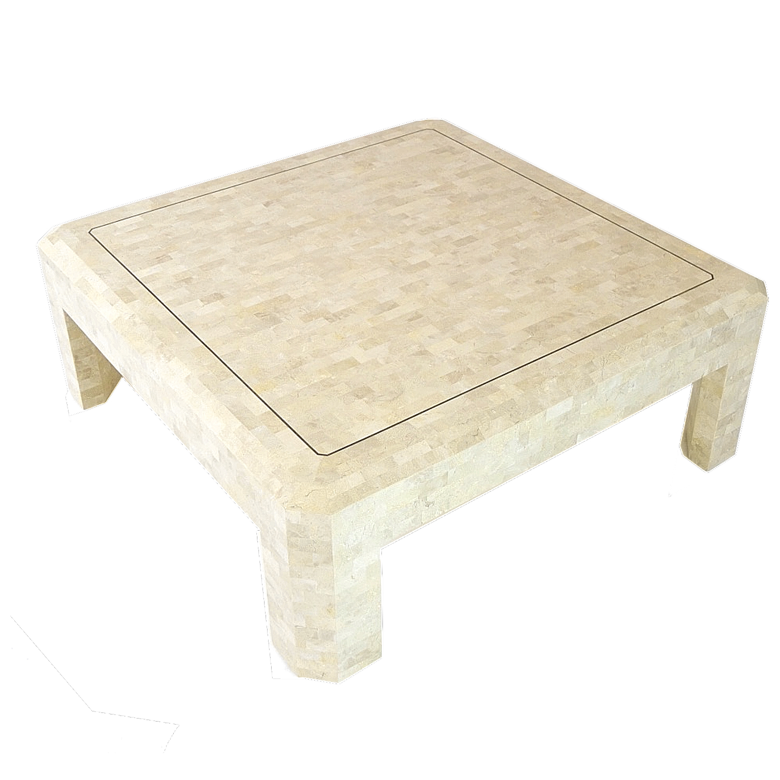 maitland smith tessellated stone coffee table chairish