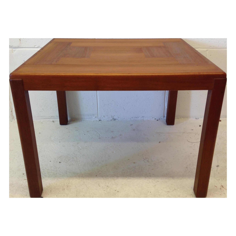 Mcm Teak Coffee Table: Mid Century Modern Danish Teak Coffee Table