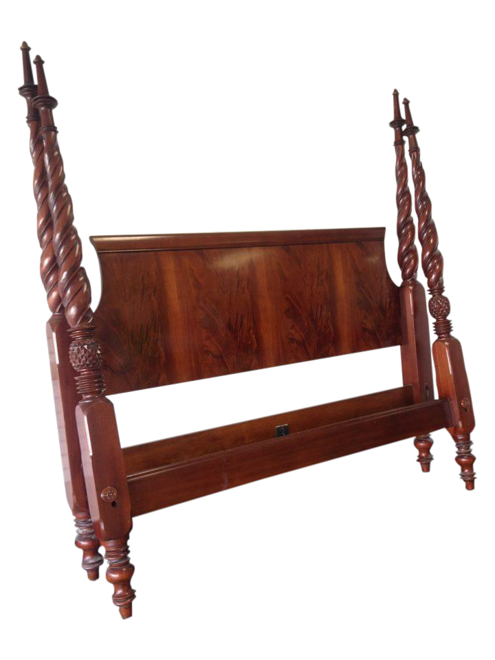 King Size Hickory Chair Planter S Bed Chairish