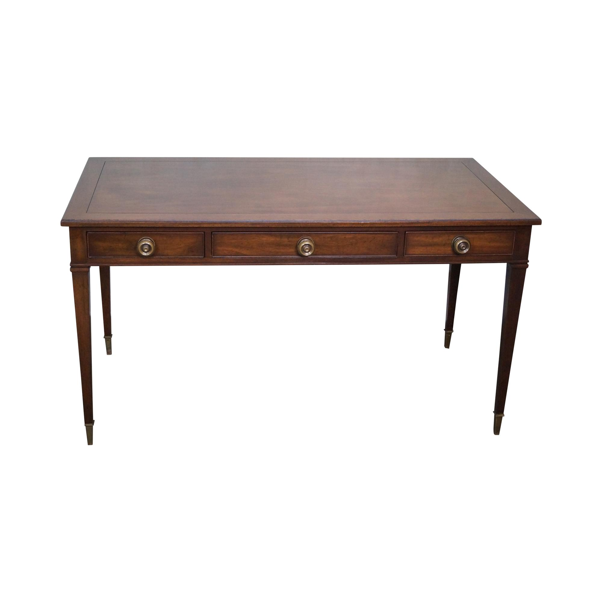 Kittinger Vintage Mahogany Regency Style Writing Desk