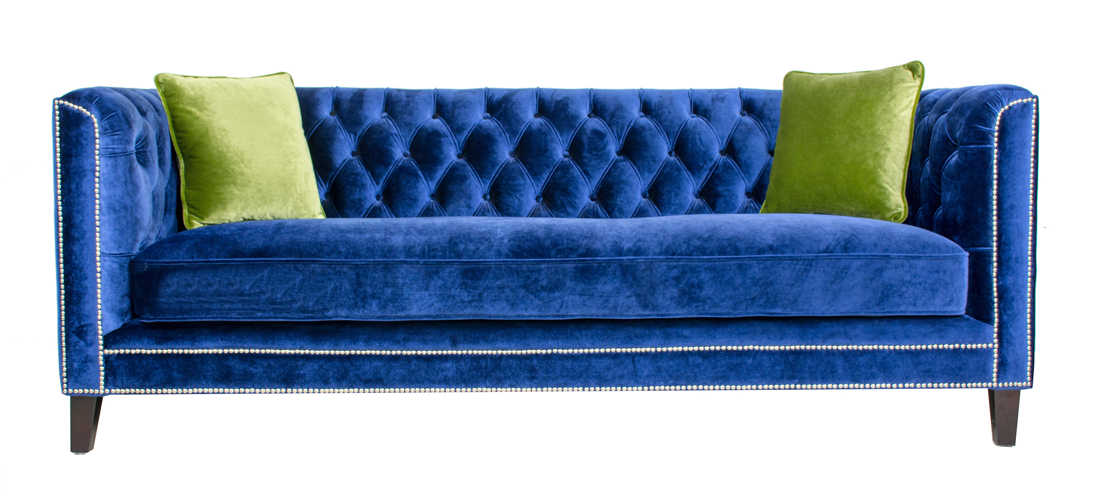 Royal Blue Velvet Sofa Best Blue Velvet Sofas Blog Roger Chris