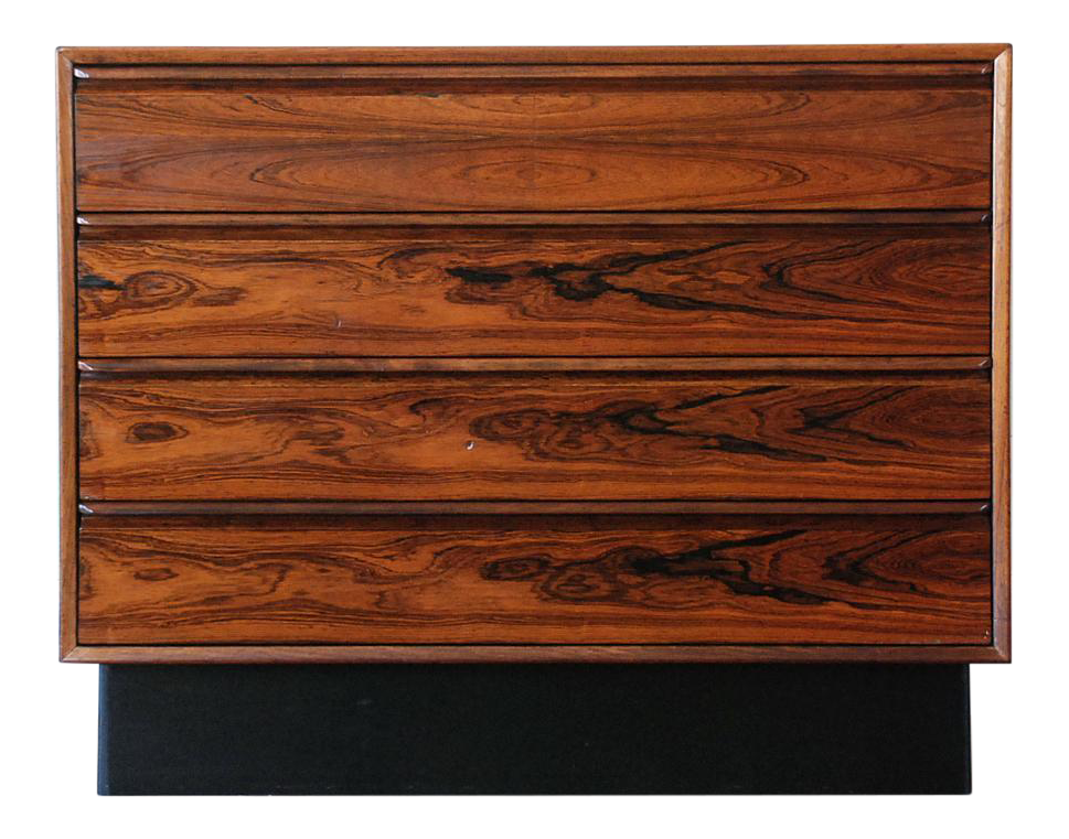 Mid century modern brazilian rosewood dresser chairish - Brazilian mid century modern furniture ...