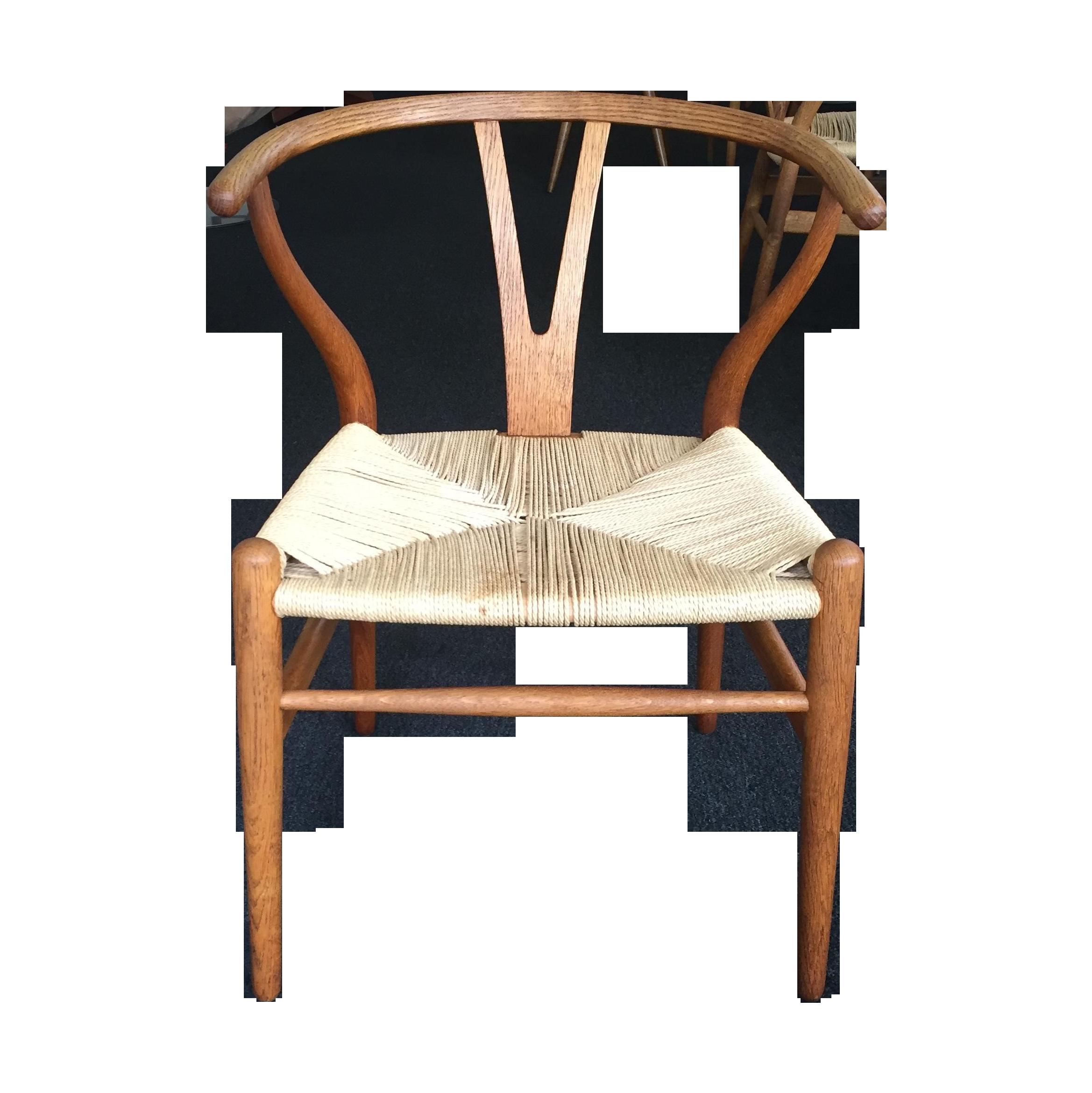 hans wegner vintage wishbone chairs set of 4 chairish. Black Bedroom Furniture Sets. Home Design Ideas