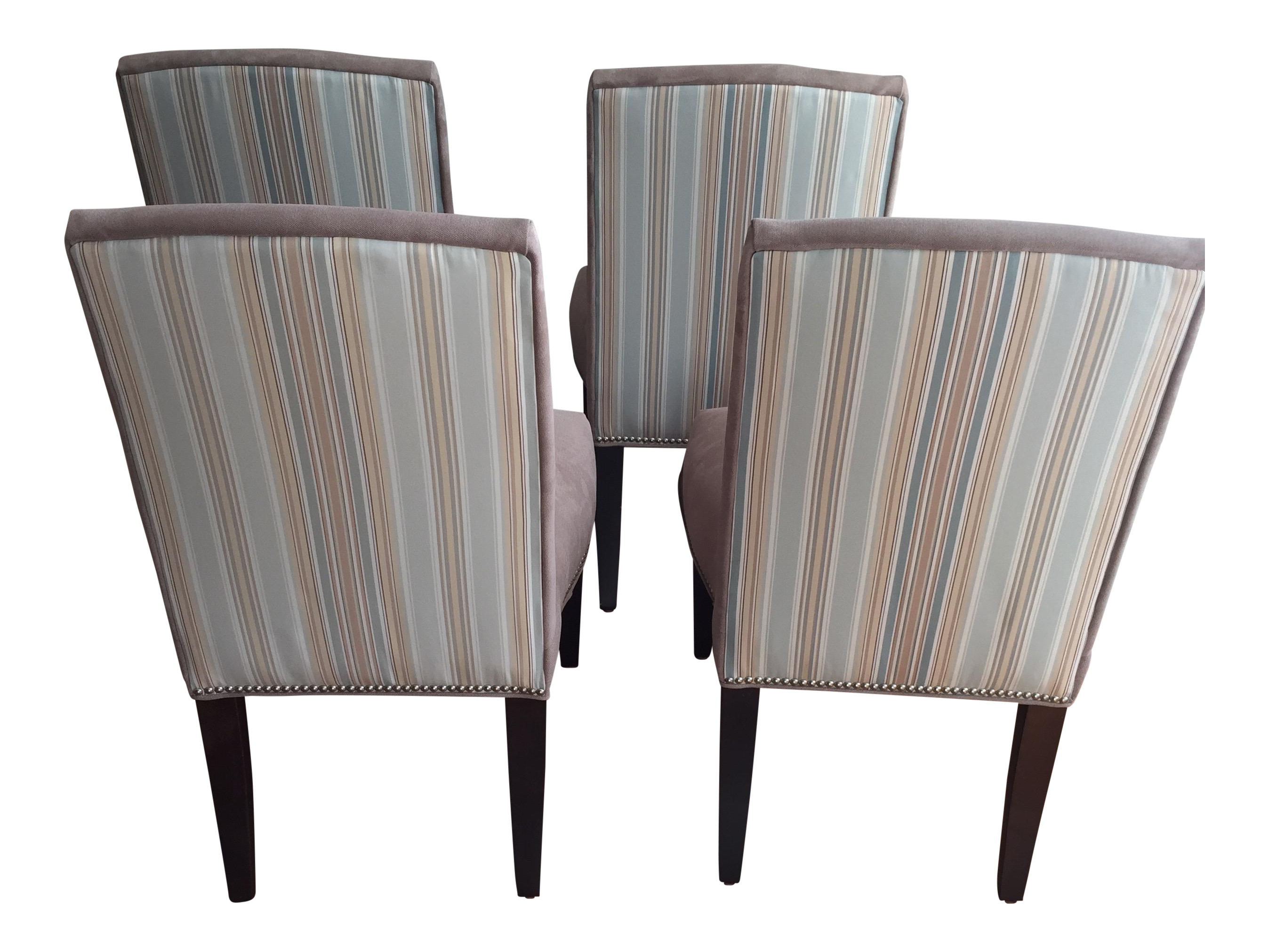 Lee Industries Upholstered Dining Chairs With Accent