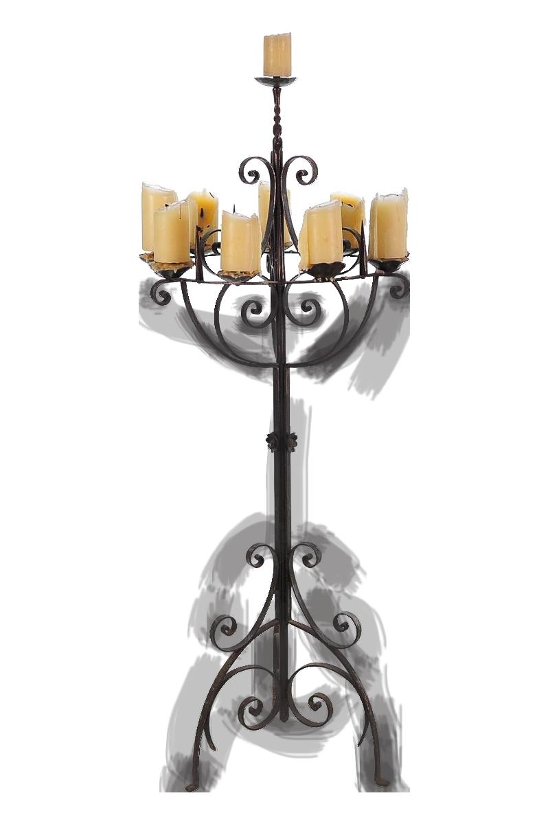 vintage u0026 used gothic candle holders chairish