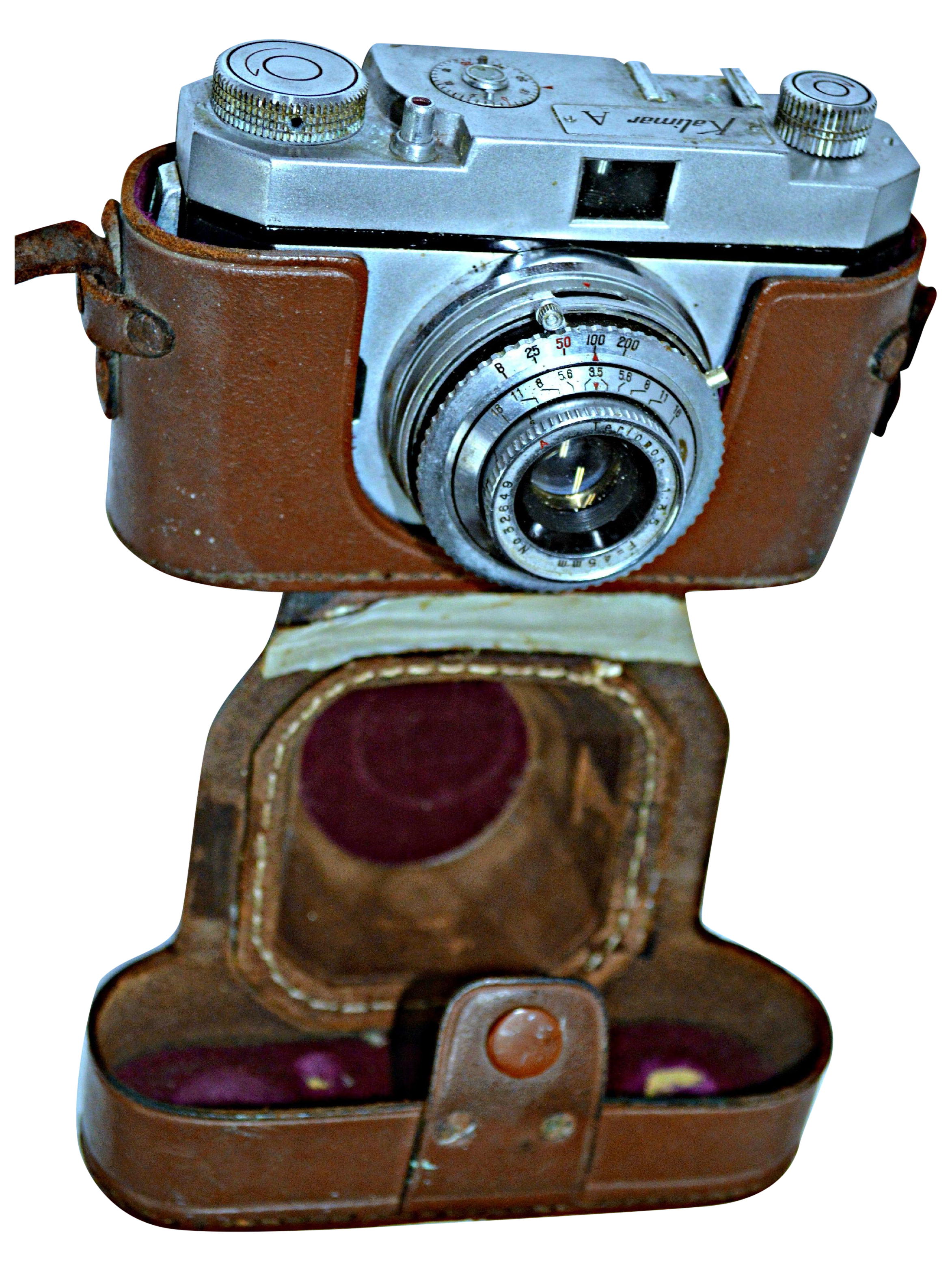 Vintage Kalimar Camera With Leather Case Chairish