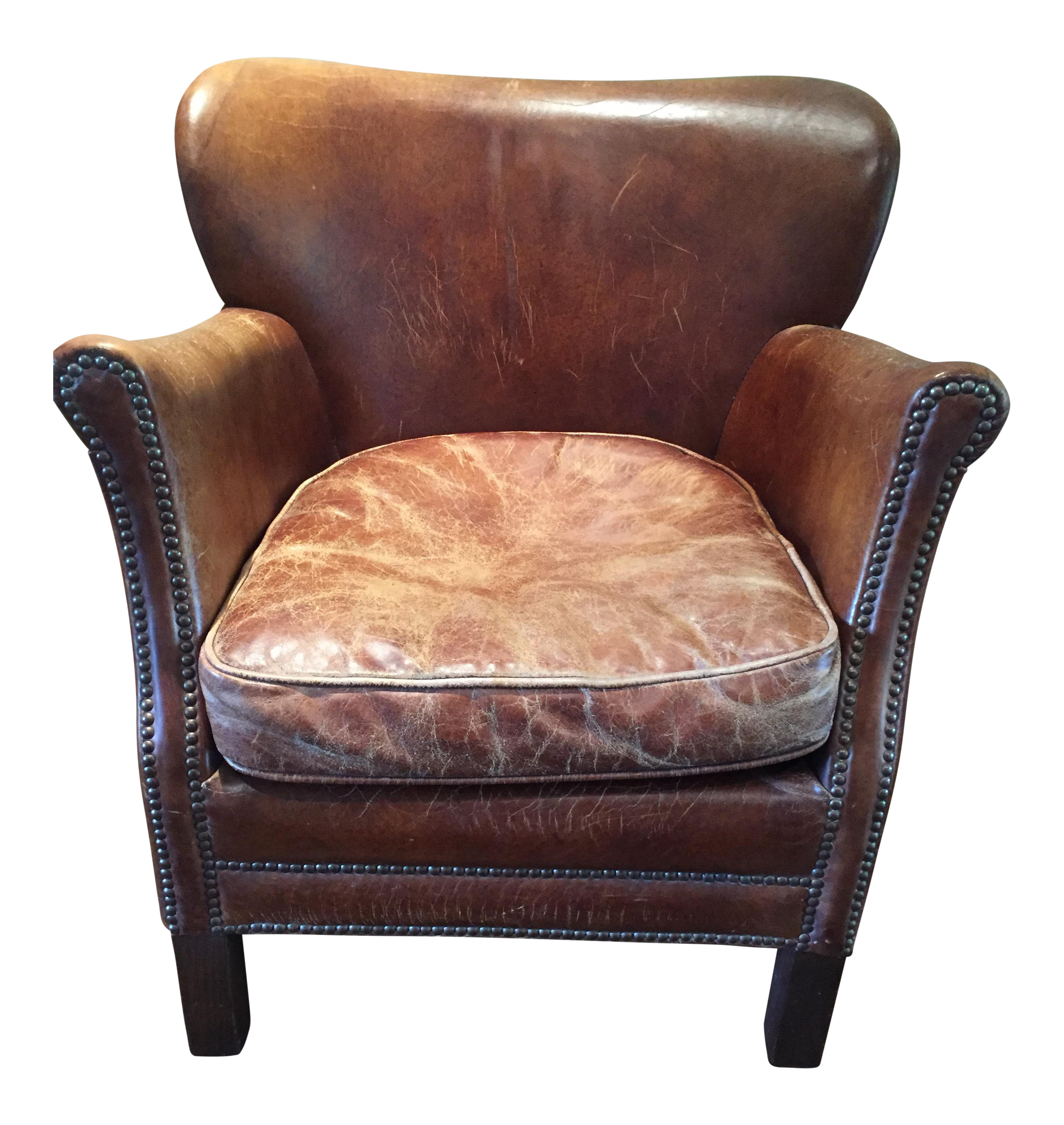 Restoration Hardware Professor s Leather Chair