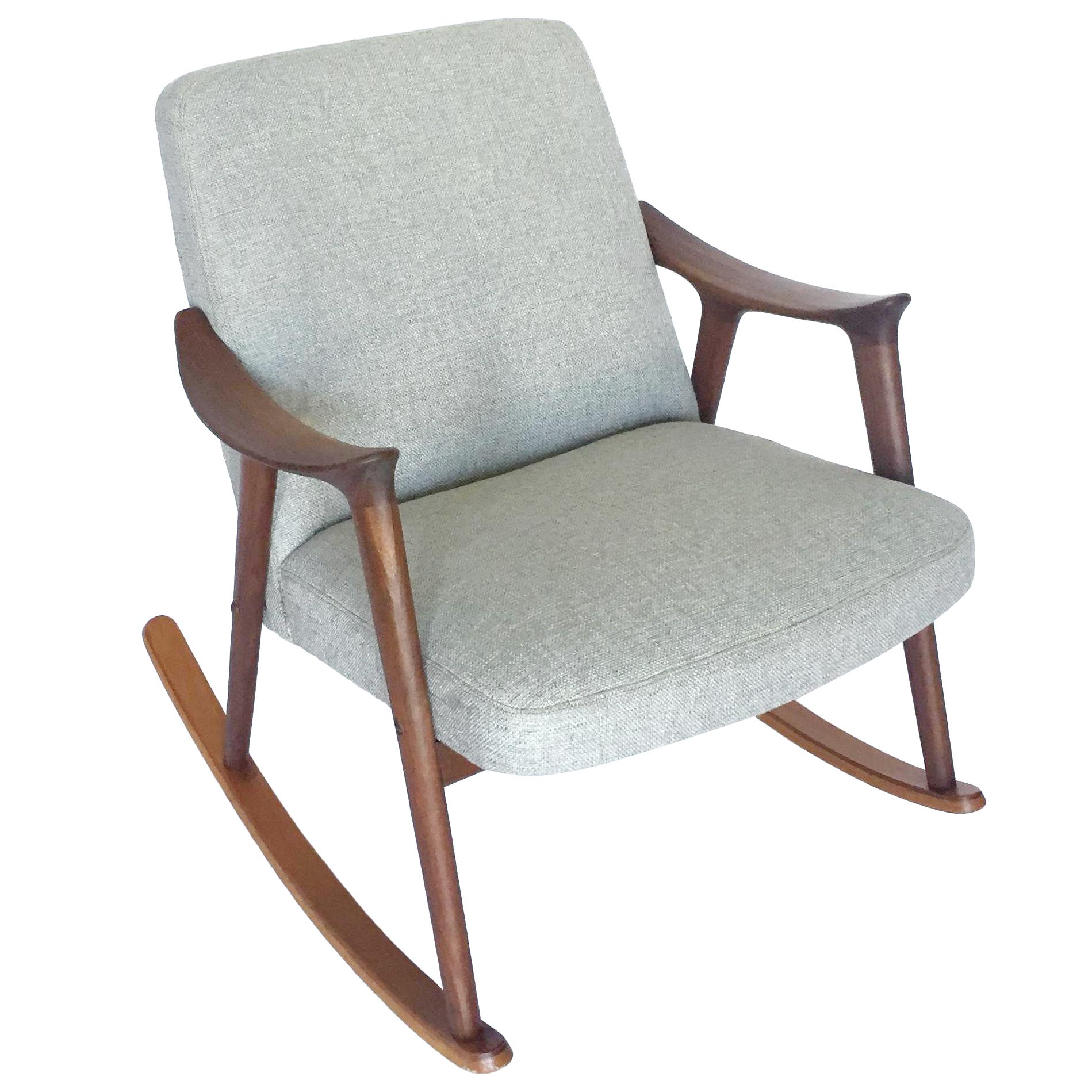 Norwegian Mid Century Rocking Chair