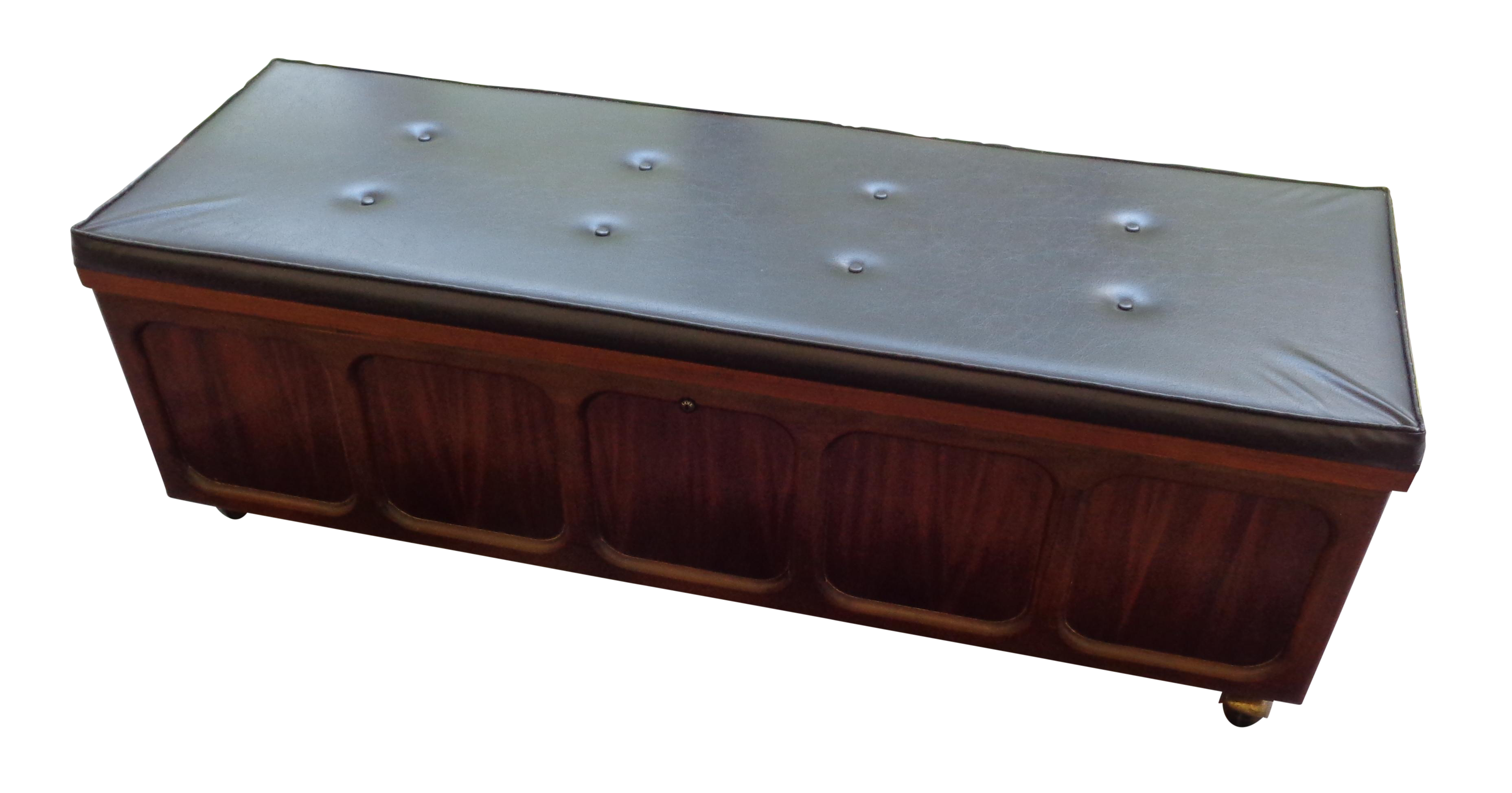1969 Padded Top Lane Cedar Chest Bench Chairish