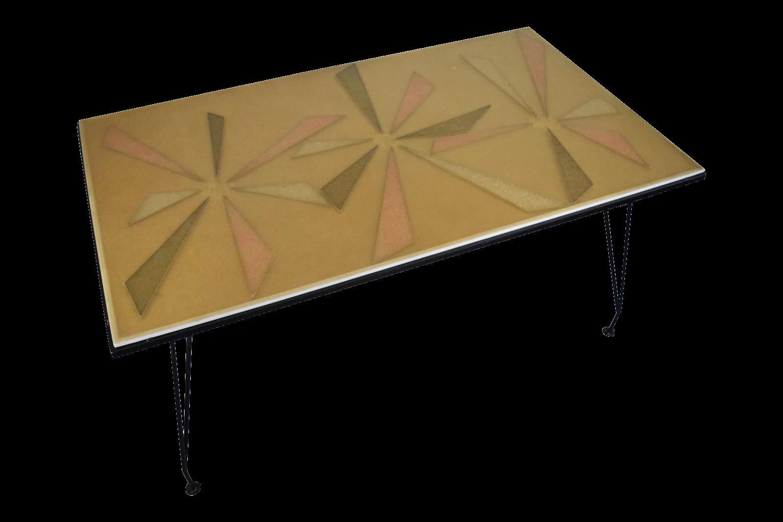 Mid Century Modern Patio Dining Table Chairish