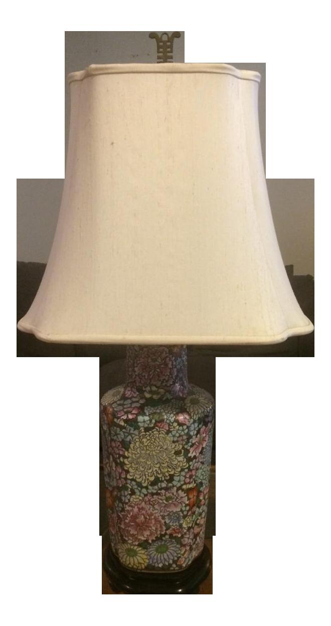 Vintage Maitland Smith Ginger Jar Lamp Chairish