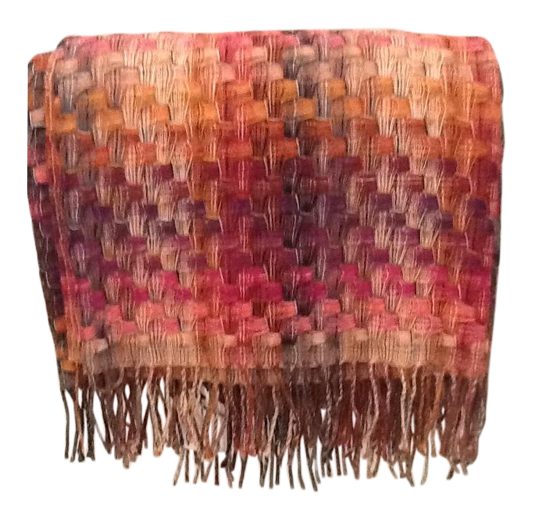 Missoni Home Mini Armchair Gravita: Missoni Home 'Husky' Pink & Purple Throw