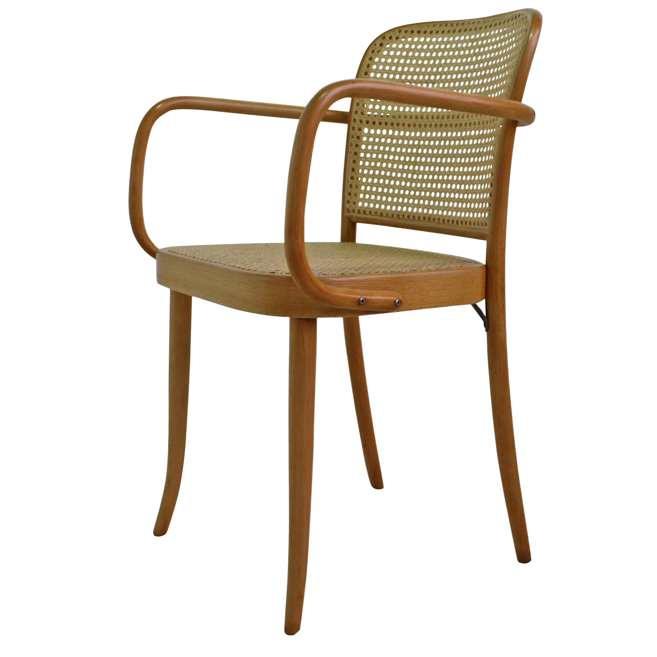 vintage bentwood cane arm chair in the style of michael thonet chairish. Black Bedroom Furniture Sets. Home Design Ideas