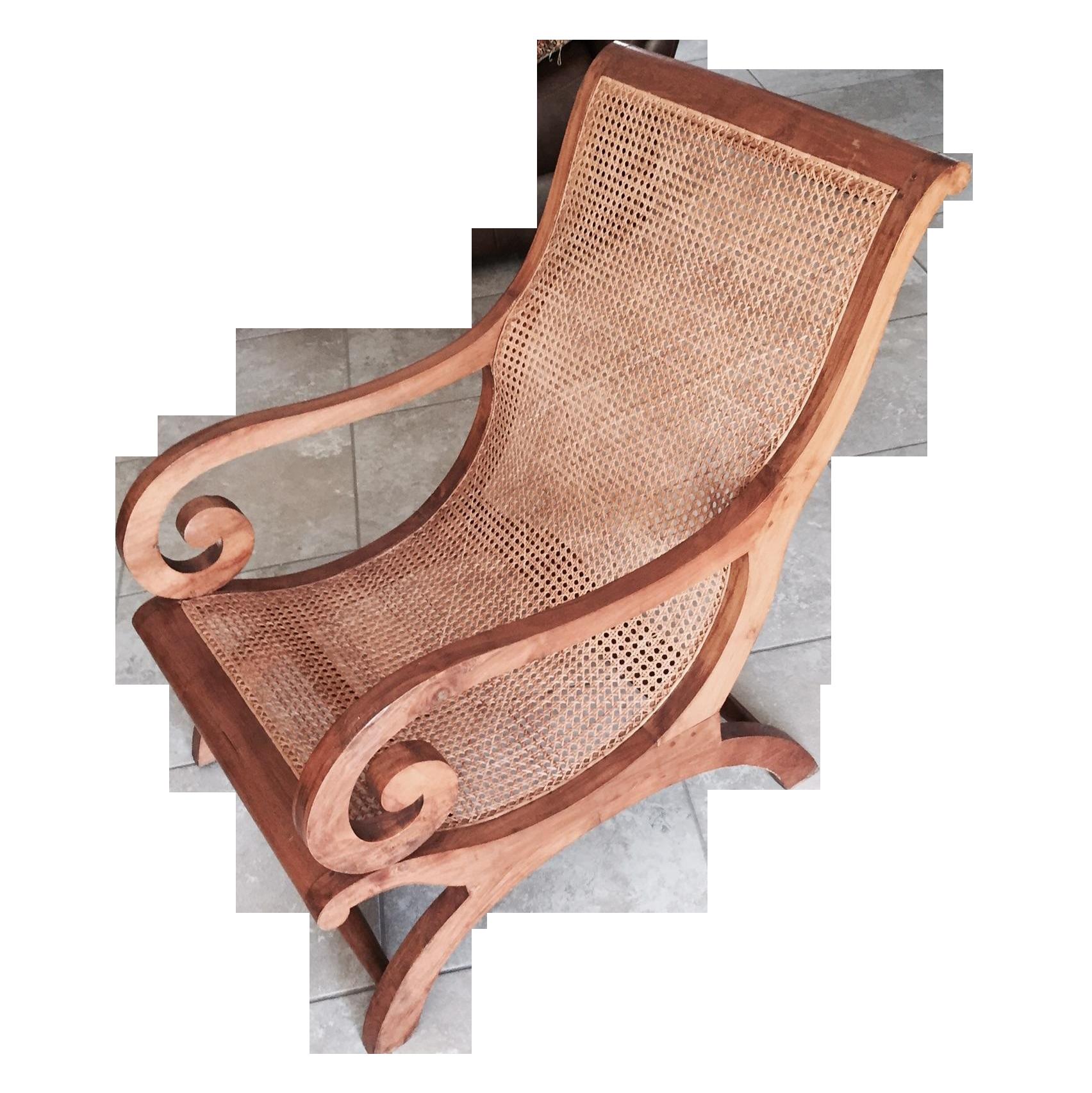 Antique Plantation Chair Chairish