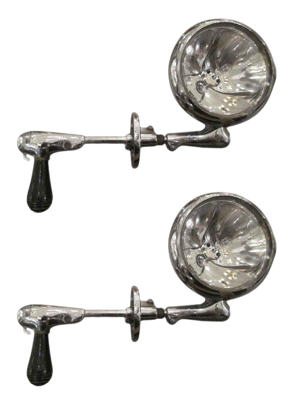 Vintage Police Spotlights A Pair Chairish
