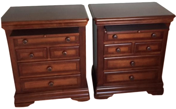 alexander julian nightstands a pair chairish