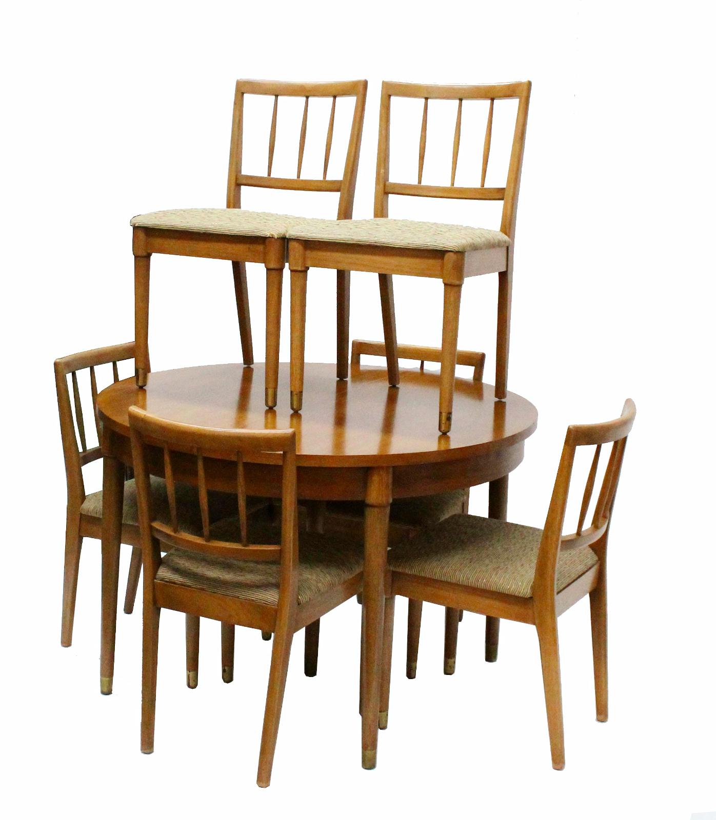 drexel dining set chairish