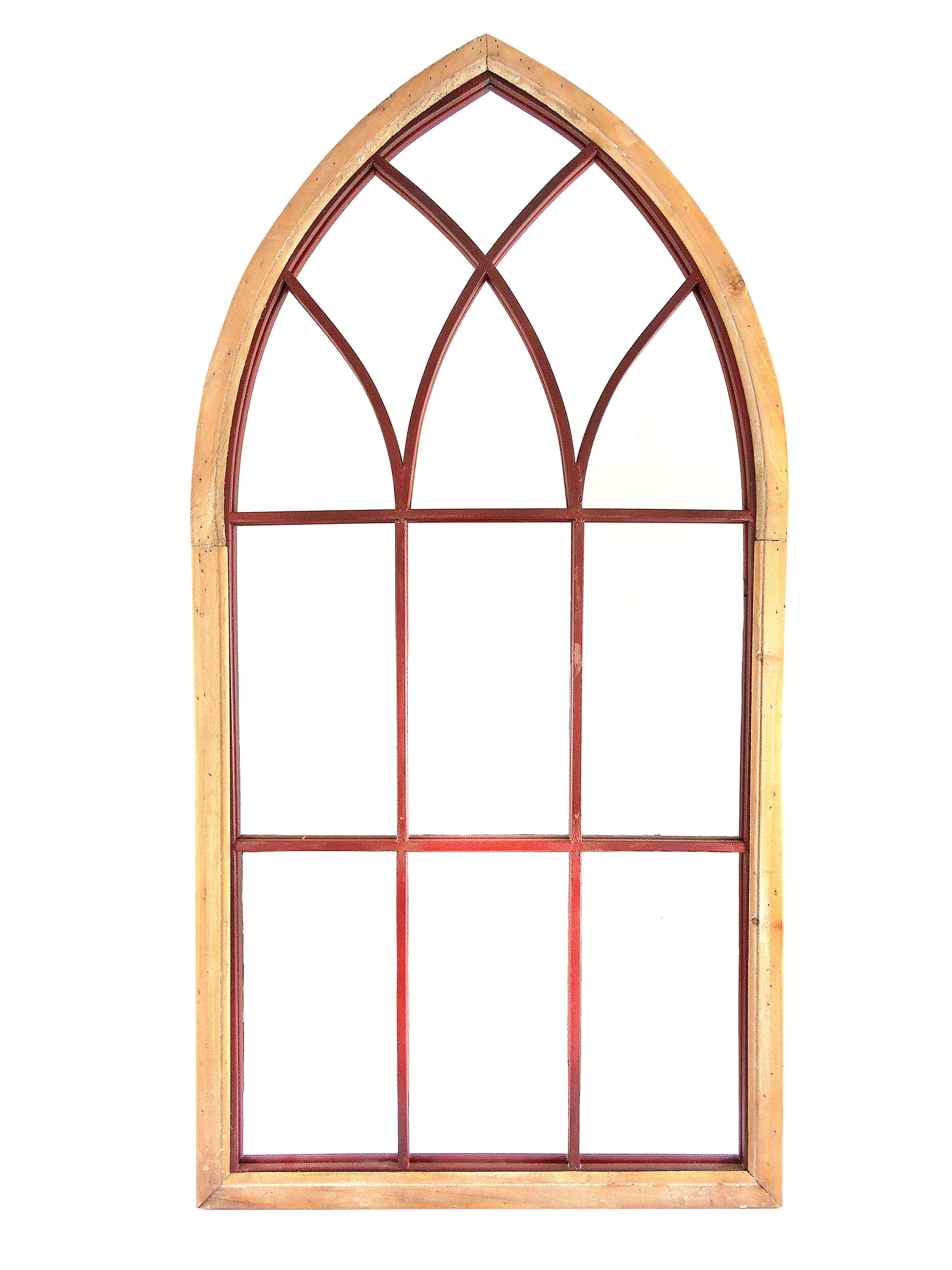 Gothic cathedral style arched wall mirror chairish amipublicfo Gallery