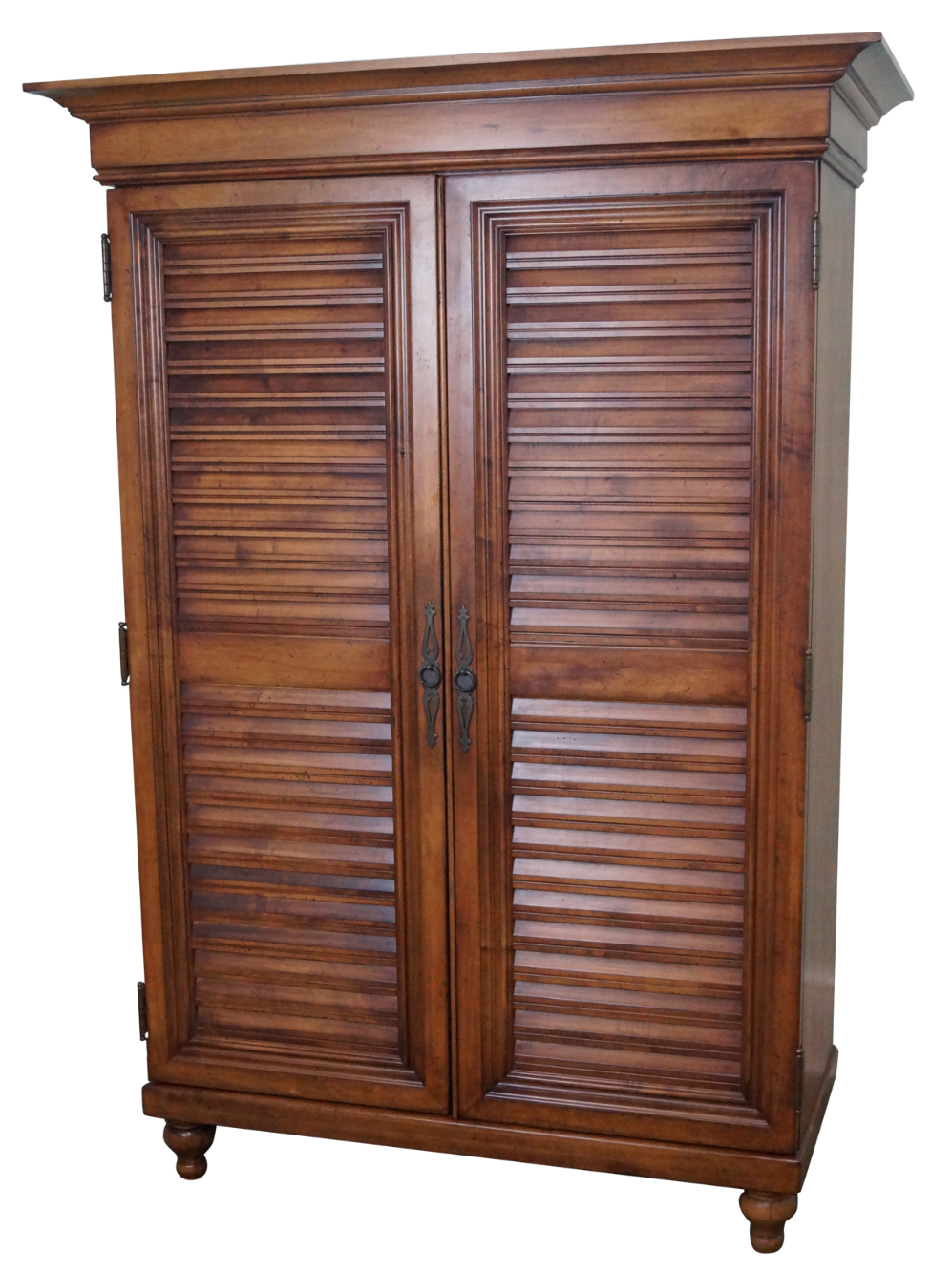 Tommy Bahama Lexington Maple Louvered Door Armoire Chairish