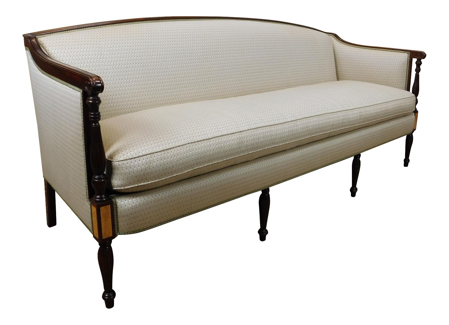 Hickory Chair Recently Reupholstered Mahogany Hickory Chair James River