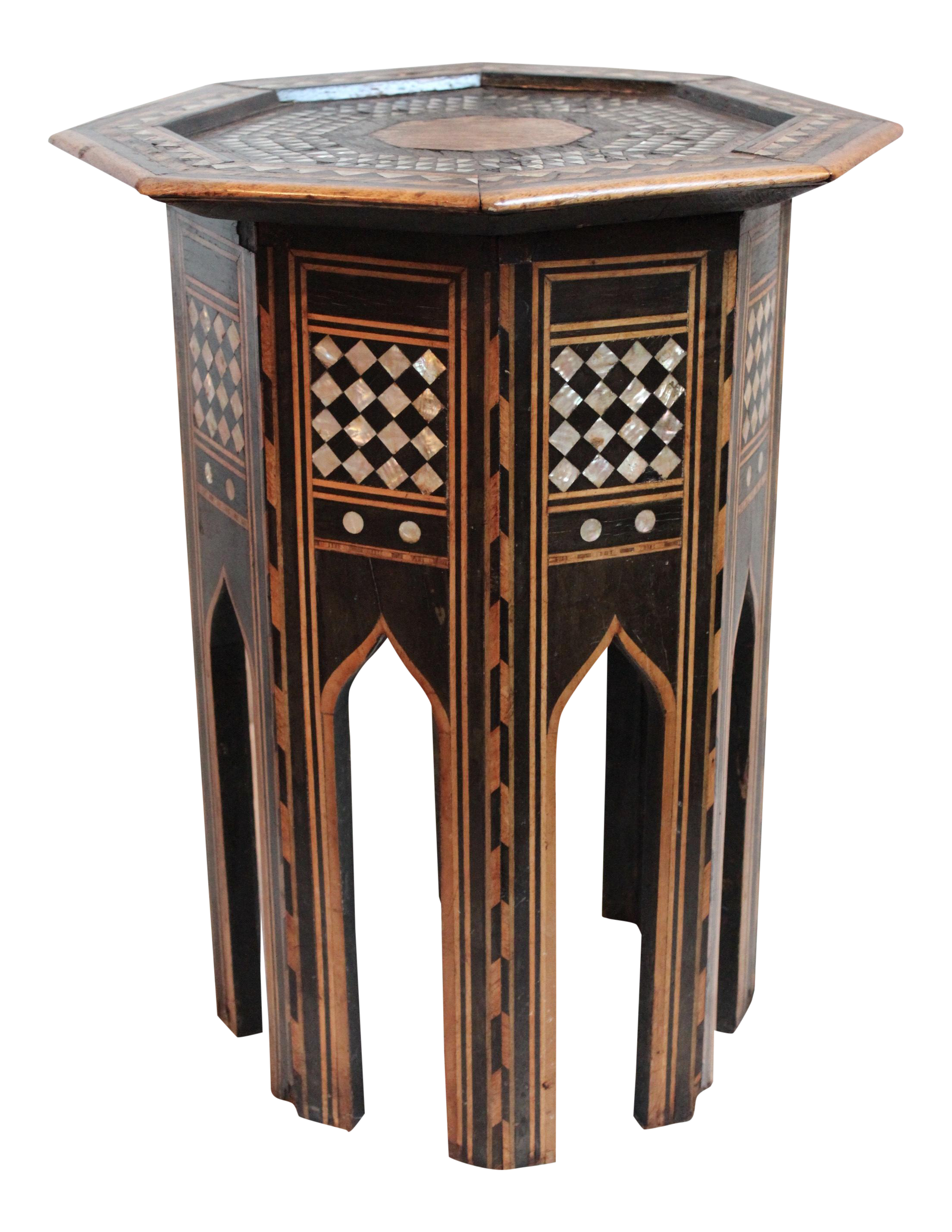 Middle Eastern Tabouret Side Table Chairish