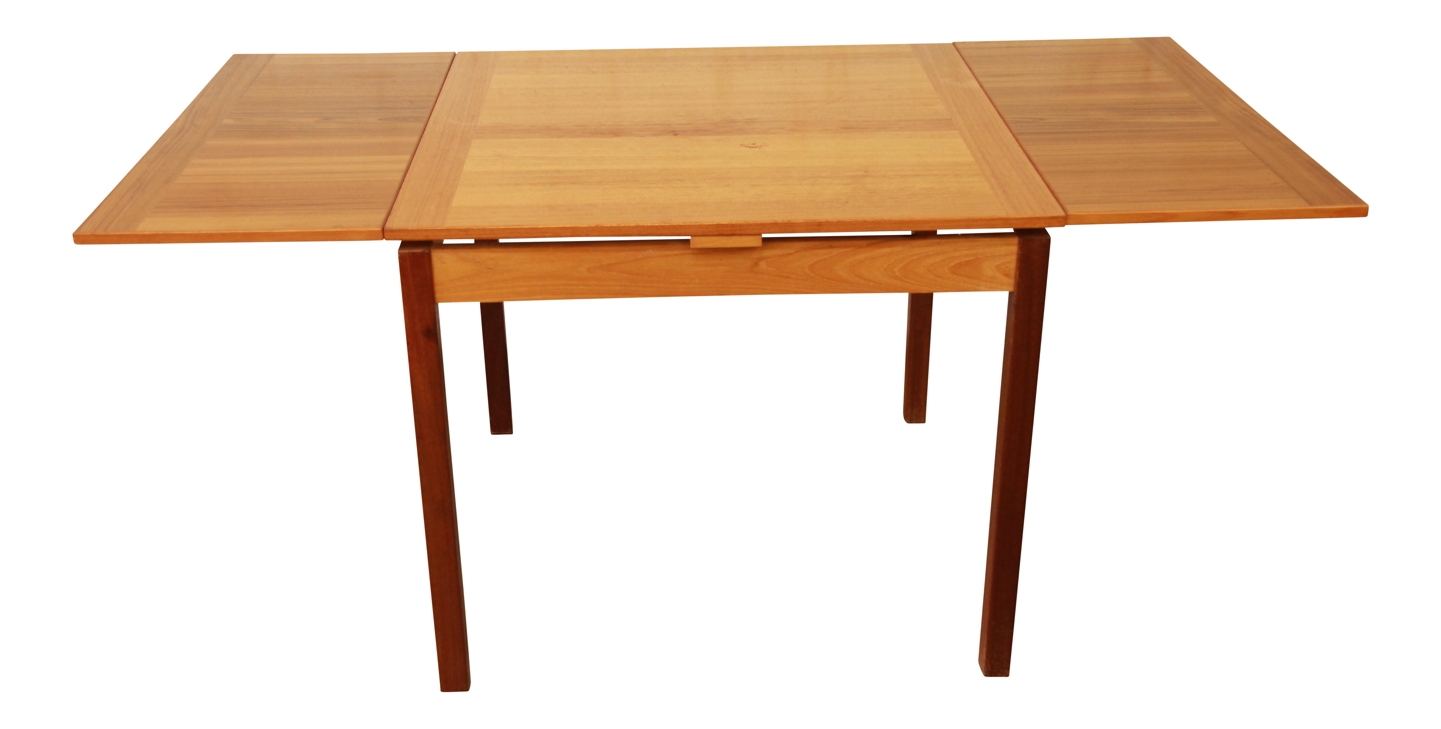 Teak extension dining table in excellent condition very clean and - Ansager Mobler Square Danish Modern Teak Extension Dining Table Chairish