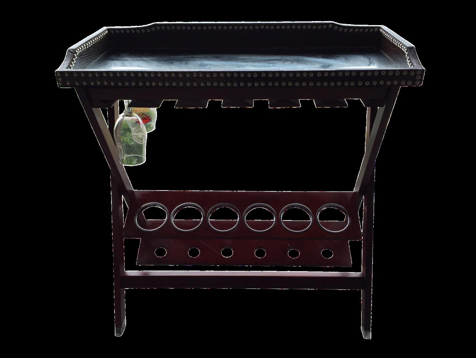 Z Gallerie Lexington Mirrored Bar Cart Chairish