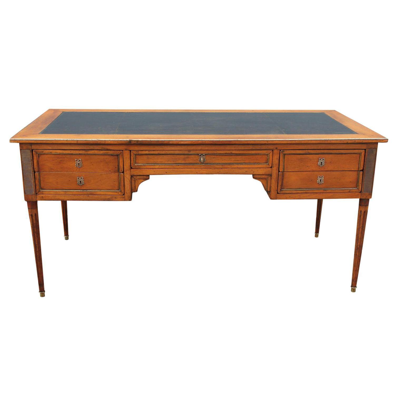 Bloomingdale 39 S Mid Century Executive Desk Chairish