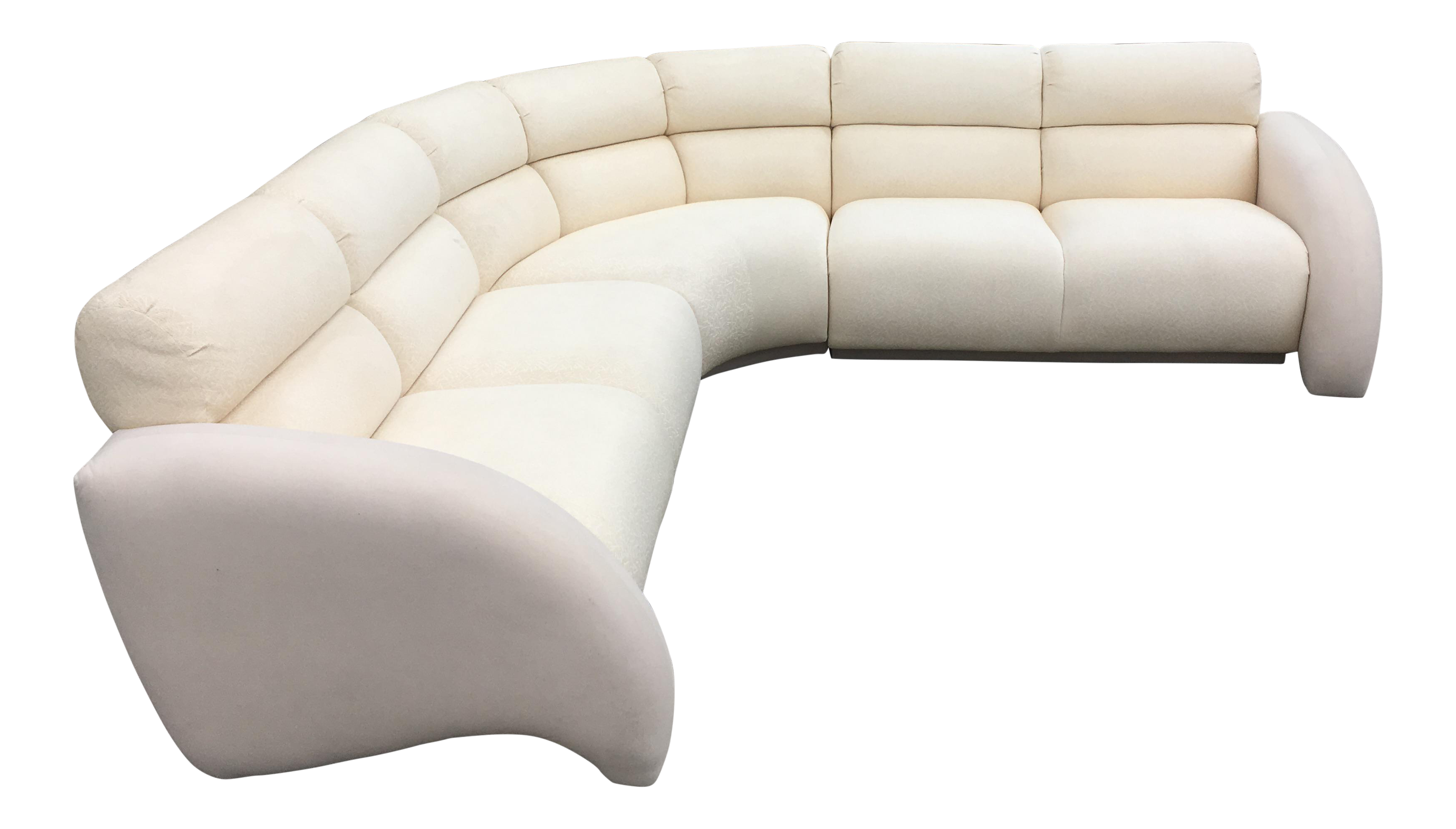 1990 s Vladimir Kagan Cirrus Sectional by Weiman