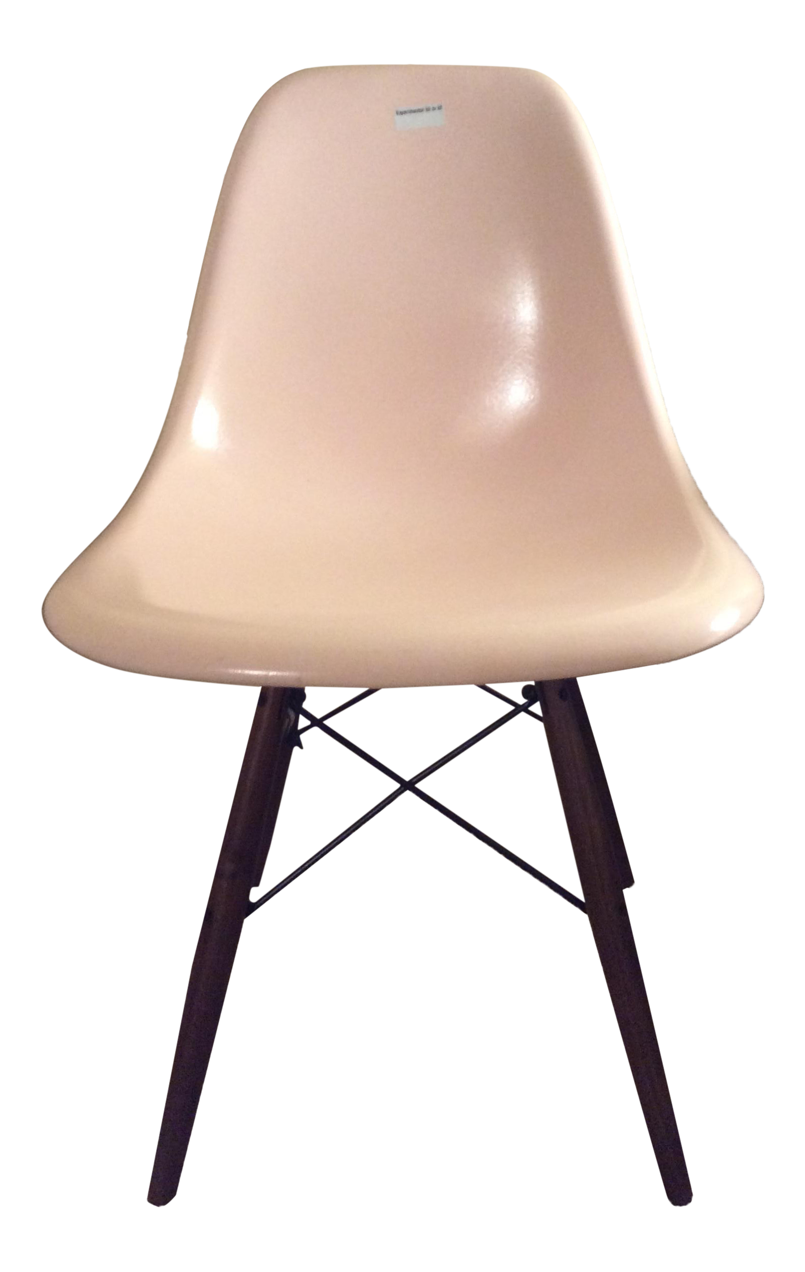 eames fiberglass shell chair chairish. Black Bedroom Furniture Sets. Home Design Ideas