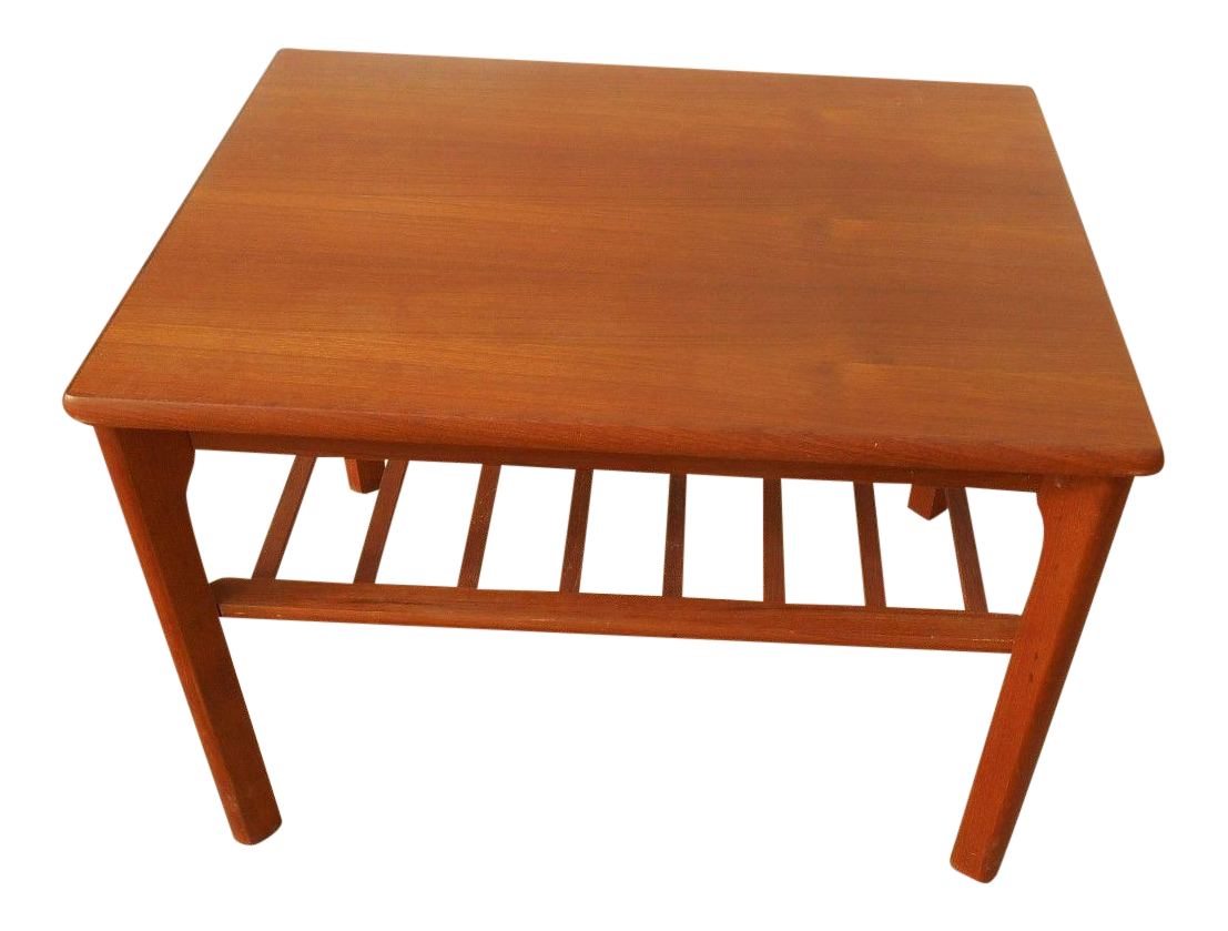 Awesome Mobelfabrikken Toften Mid Century Danish Modern Teak End Table | Chairish