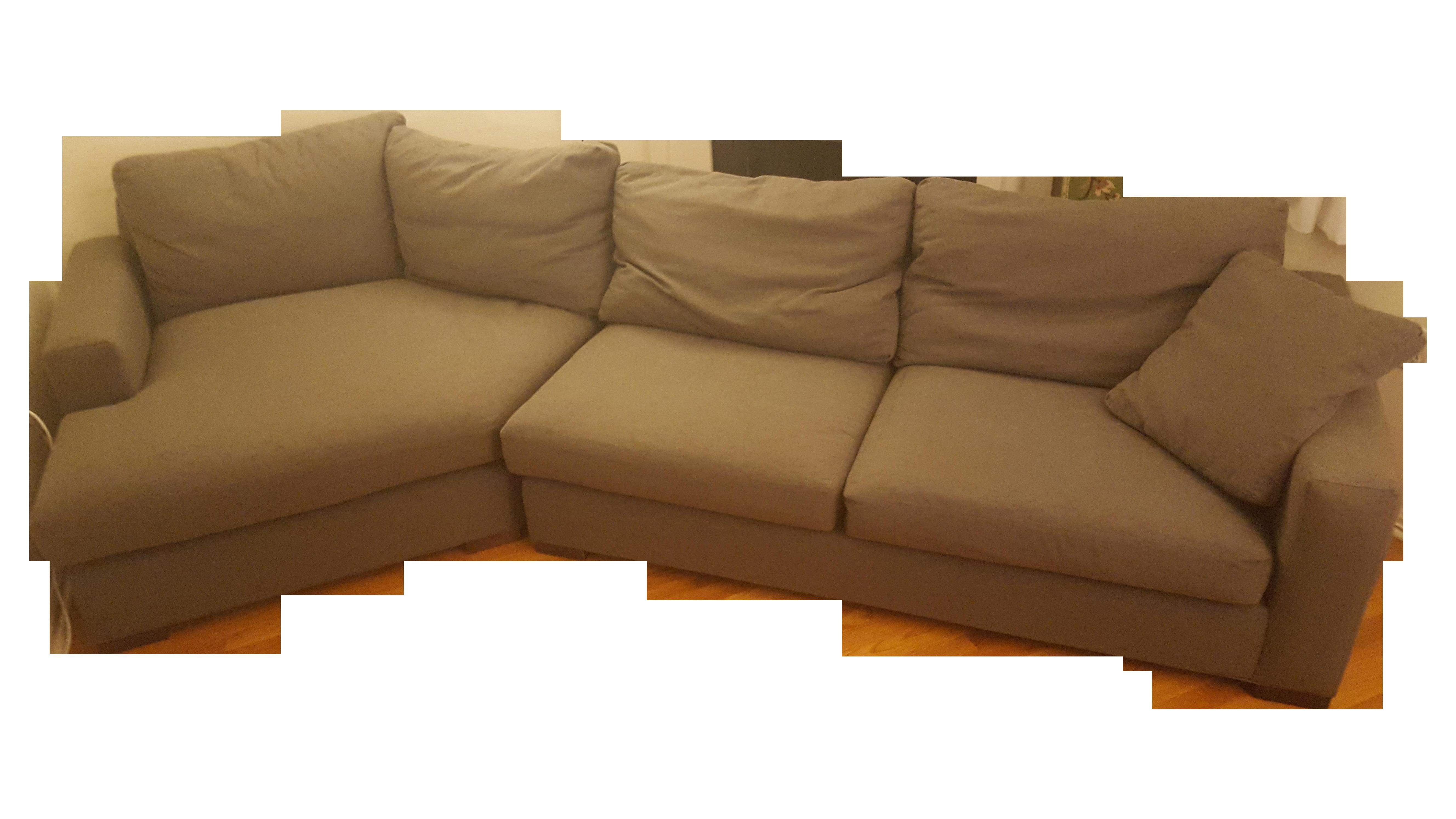 Grey Room Board Metro Sectional Sofa and Chaise Chairish