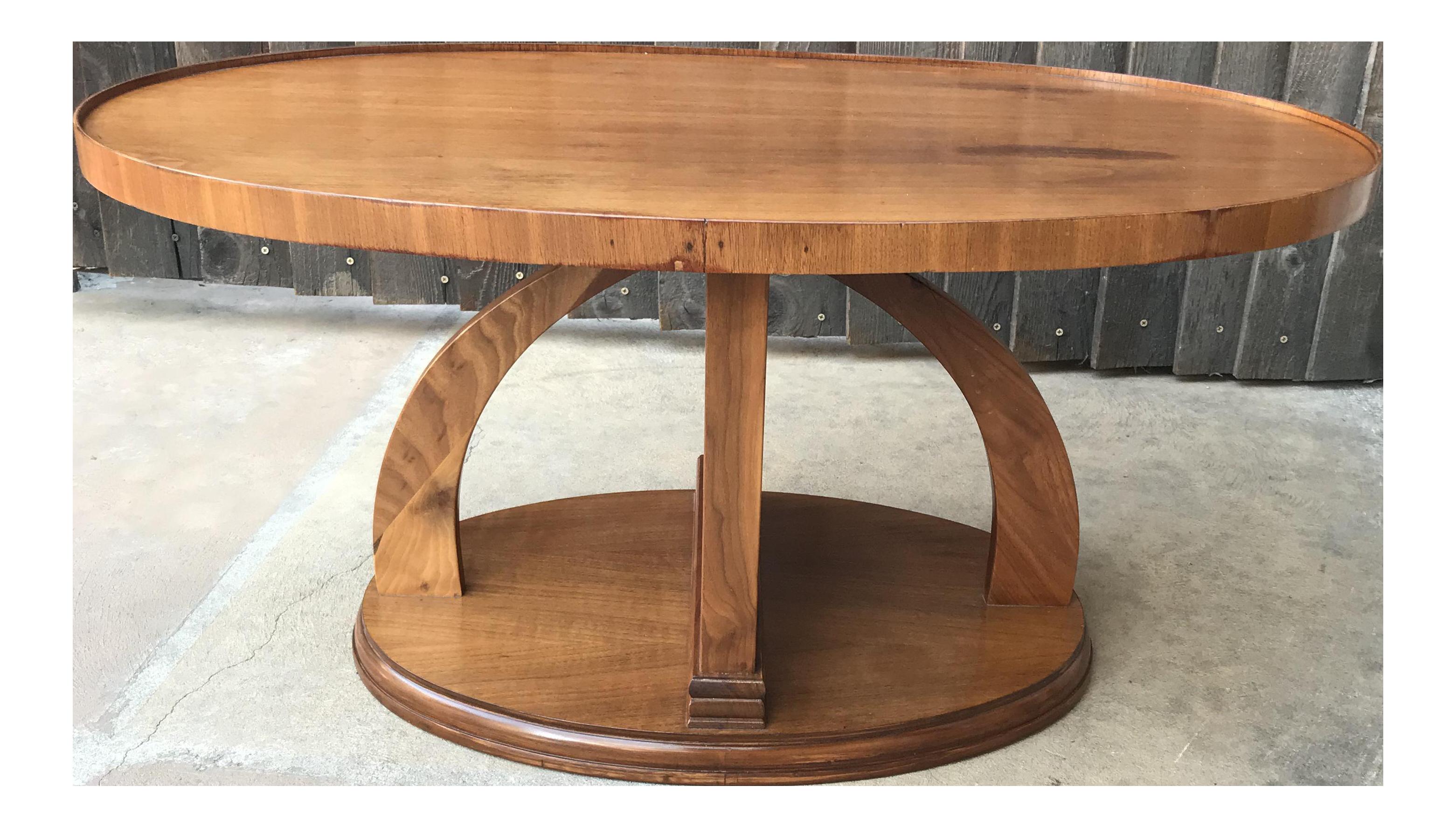 Swedish art deco coffee table chairish geotapseo Images