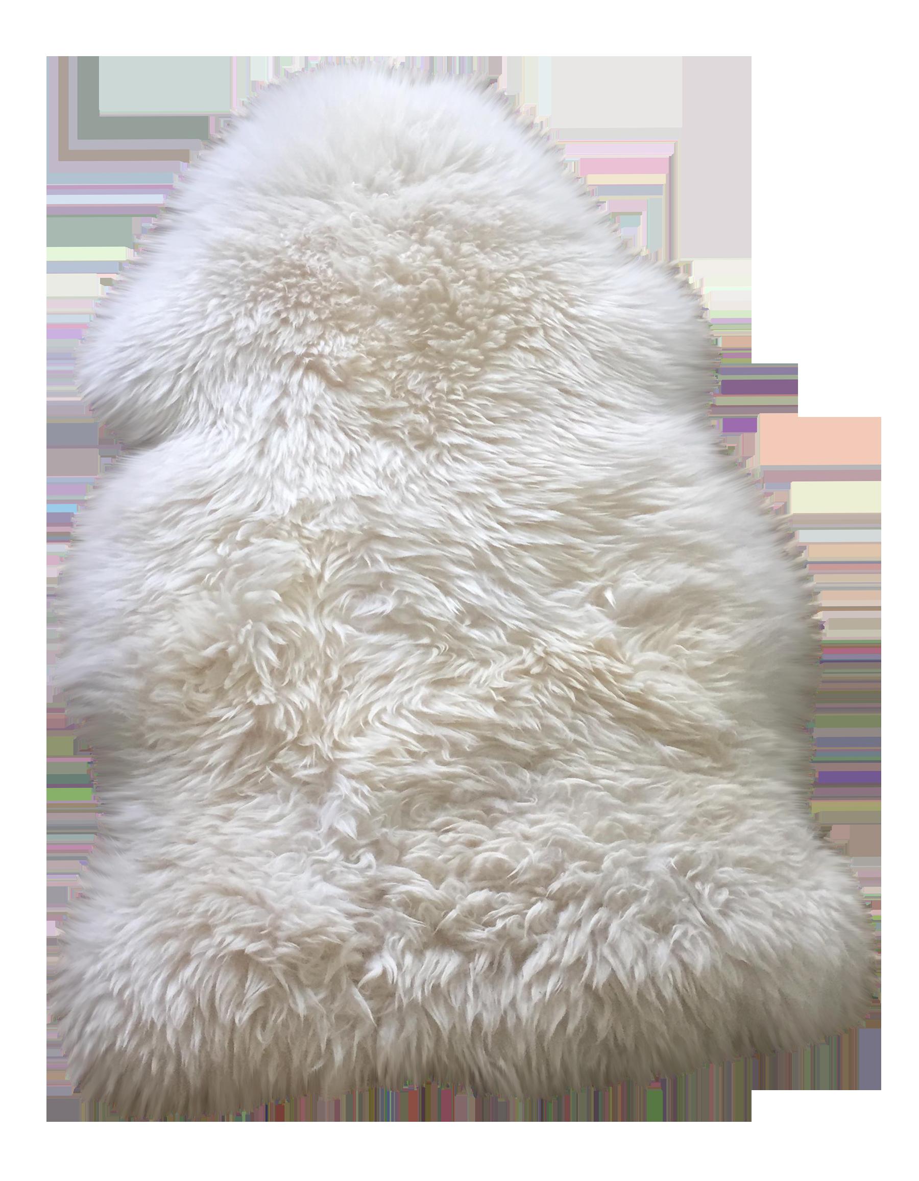 White Ivory Fur Rug 2 X 3 Chairish