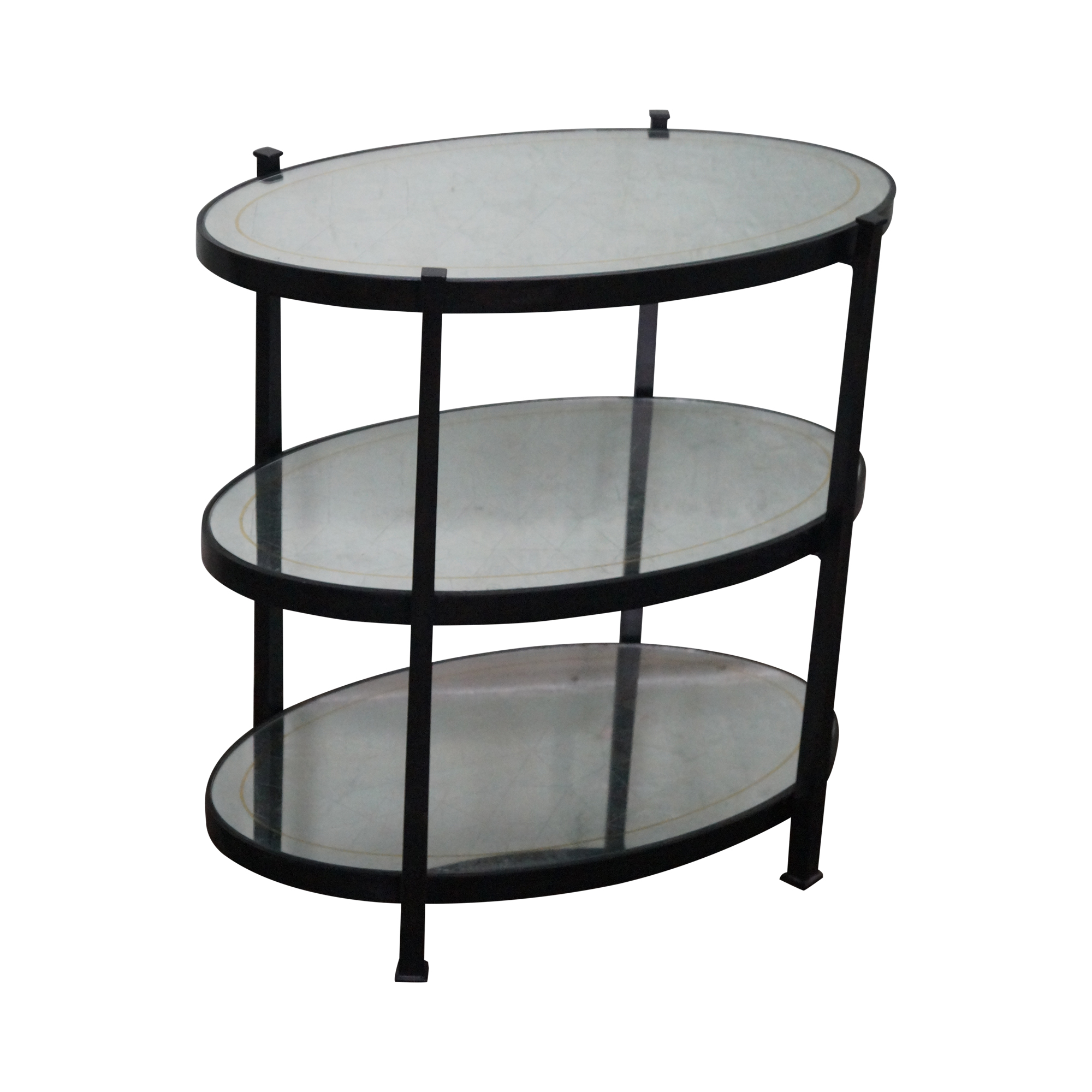 Jonathan Charles Luxe Collection 3 Tier Side Table Chairish