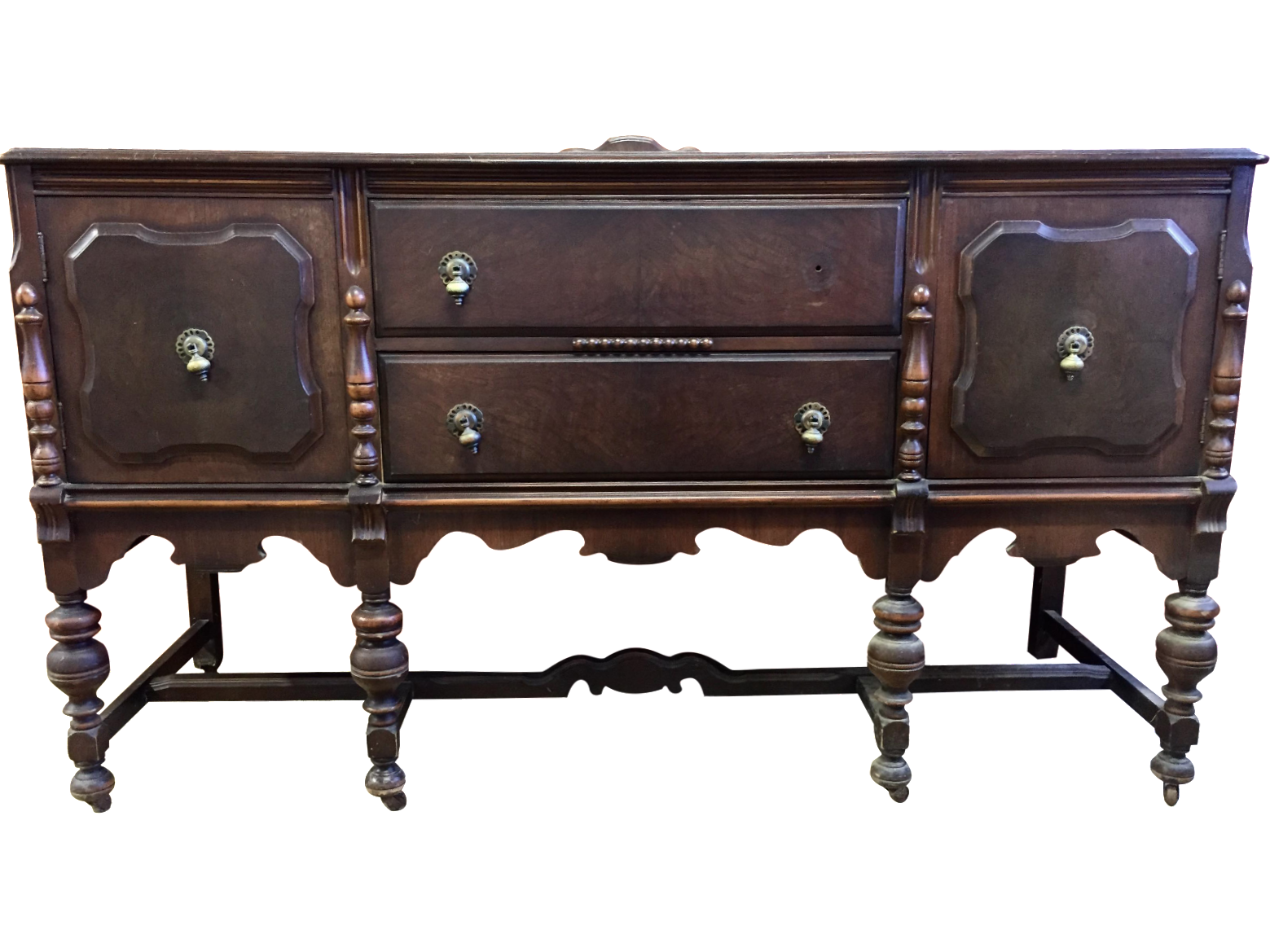 Antique Spanish Style Sideboard Chairish