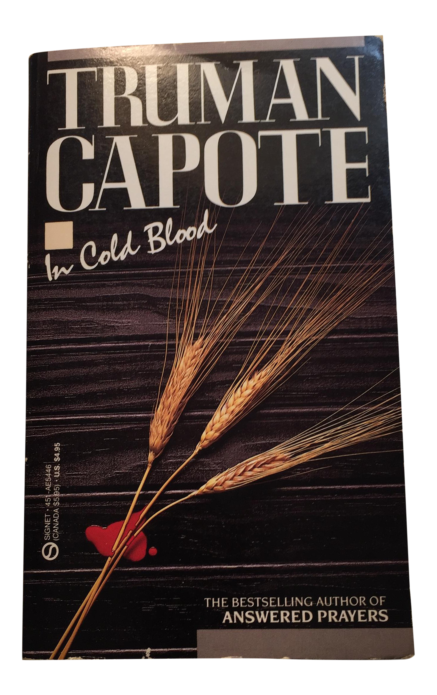 a review of truman capotes book in cold blood In cold blood by truman capote i picked up this book because a friend of mine brought it abroad to greece and basically my entire progra.