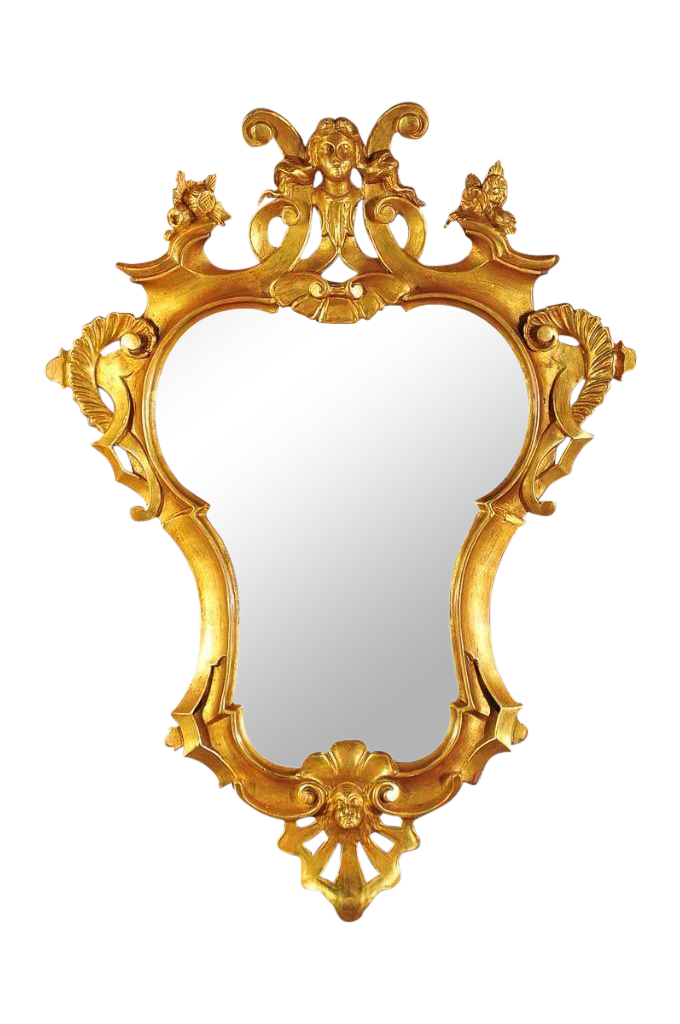 18th Century Gilt Rococo Mirror Chairish