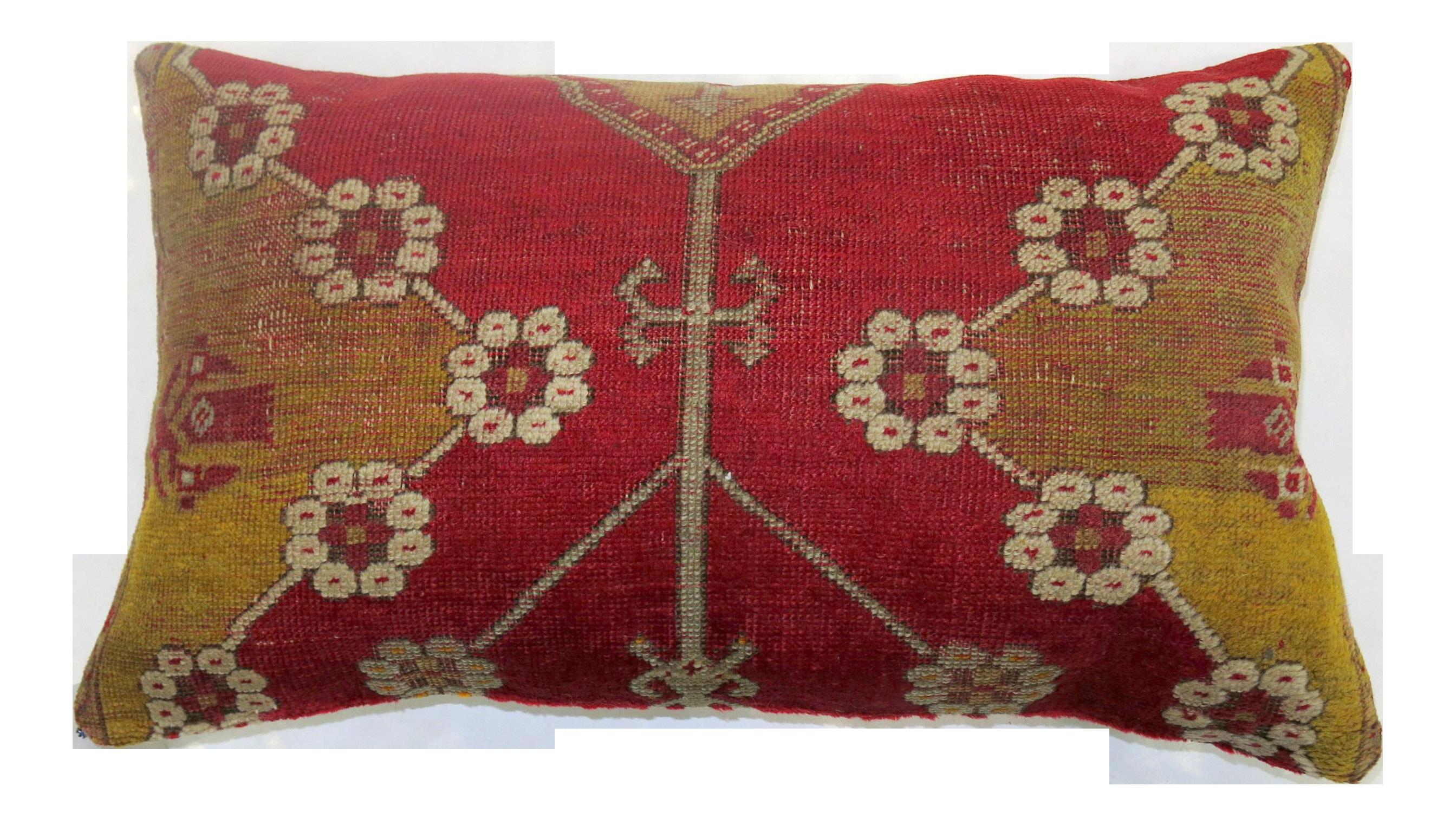 Vintage Boho Chic Floor Rug Pillow Chairish