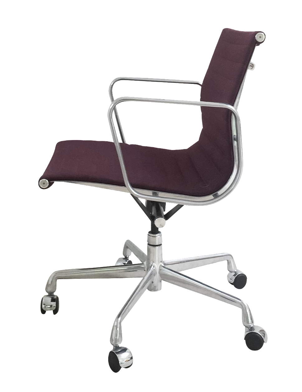 Eames Aluminum Management Chair in Eggplant Chairish : 34c33ca7 7531 412d b428 22c0ee04581c from www.chairish.com size 969 x 1257 png 386kB