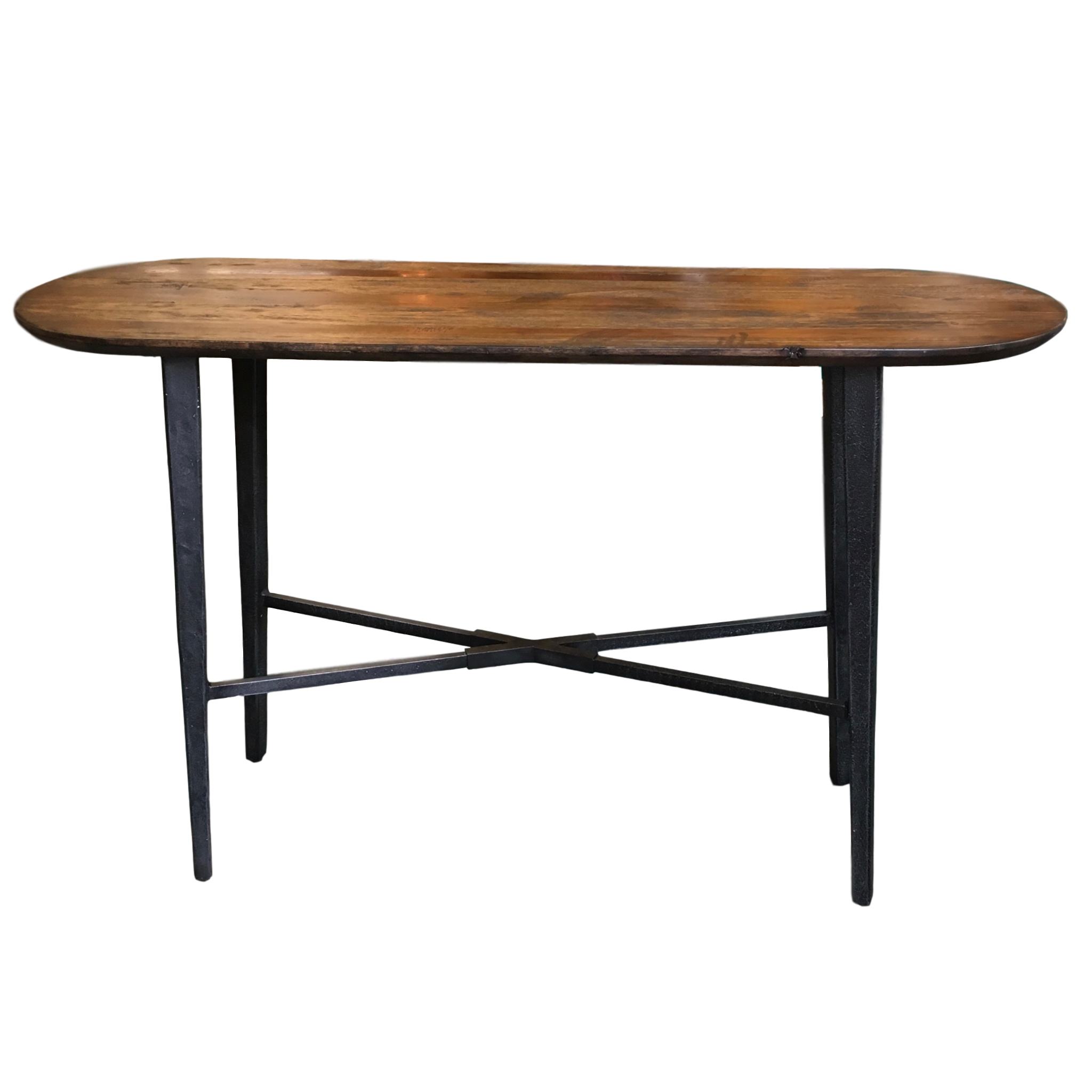 Urban Farmhouse Wood amp Metal Console Table Chairish