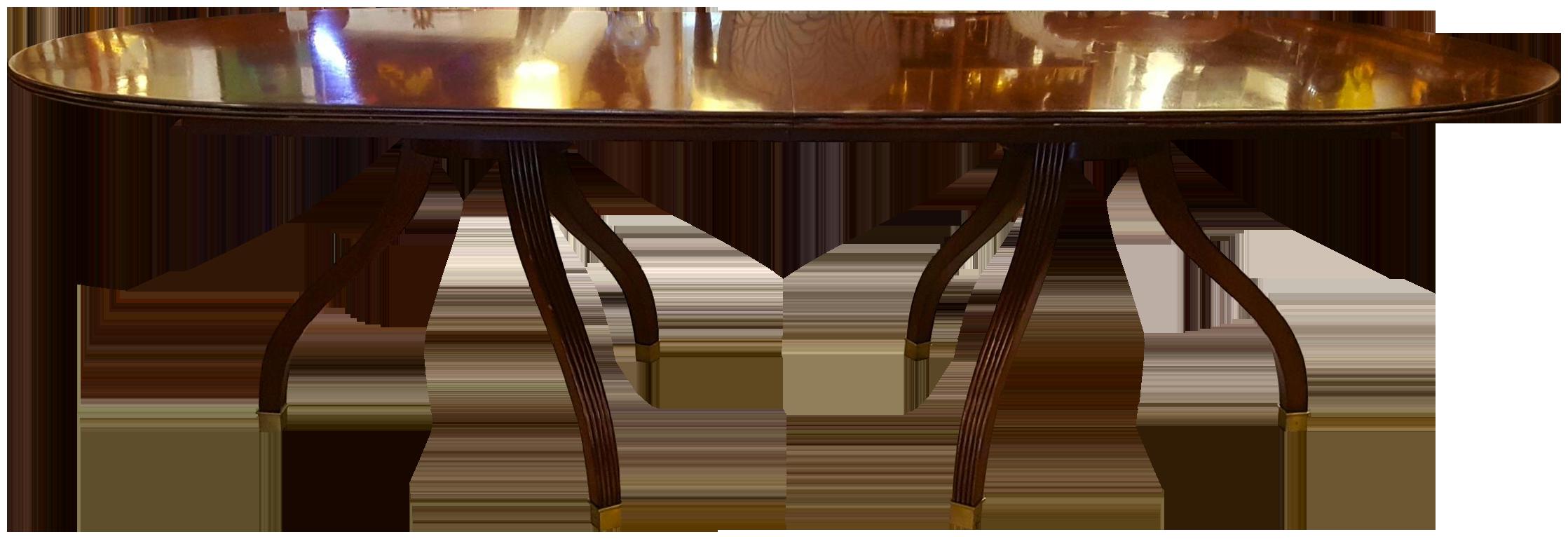 traditional ralph lauren mahogany dining table chairish ralp